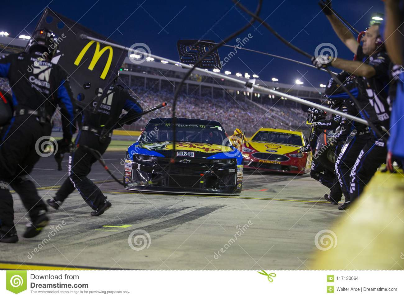 NASCAR May 19 Monster Energy All Star Race Editorial Stock Image
