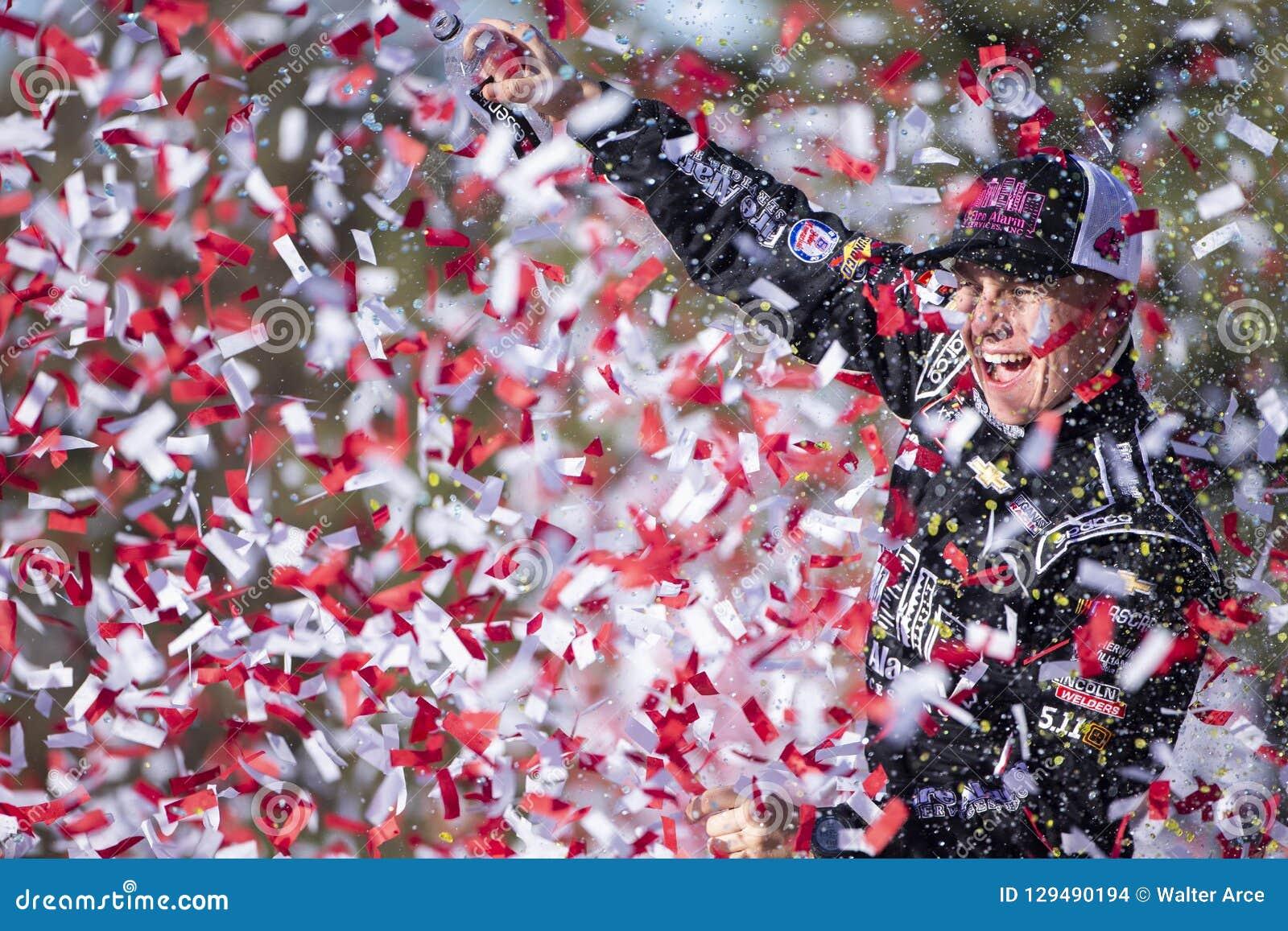 Nascar October 20 Kansas Lottery 300 Editorial Stock Image Image