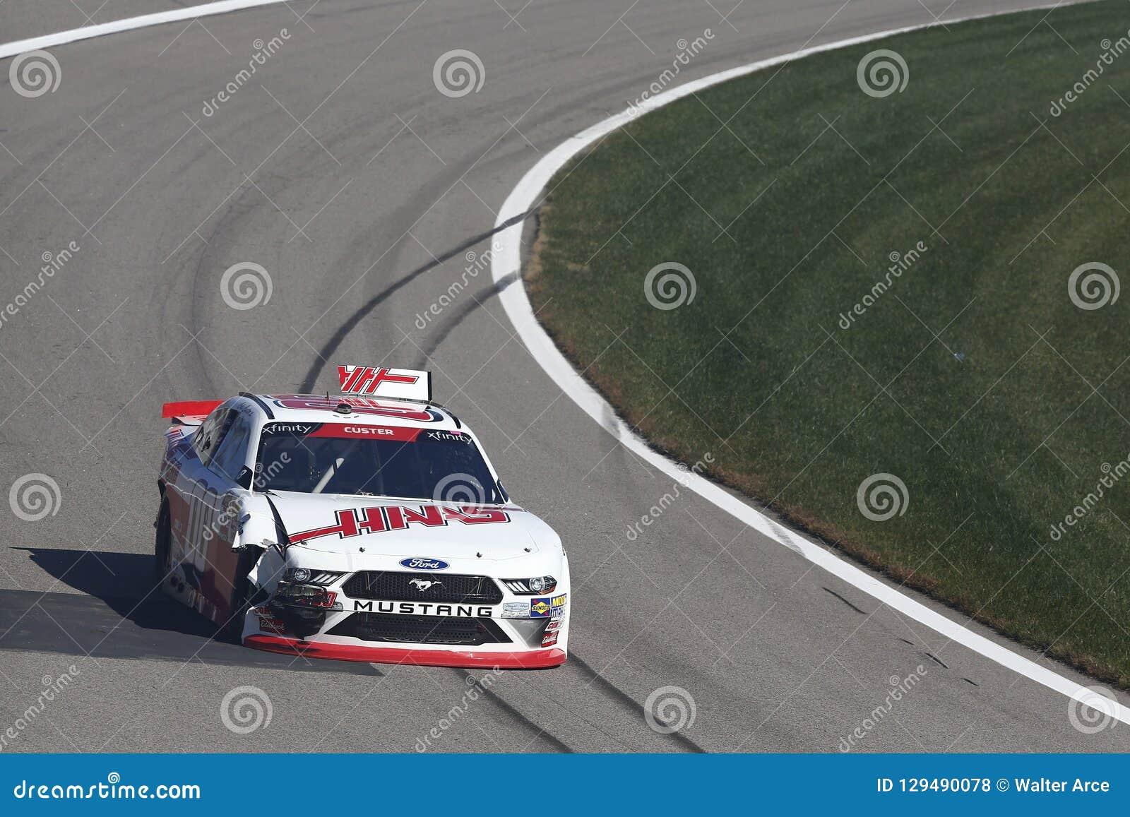 NASCAR: 20 oktober Loterij 300 van Kansas