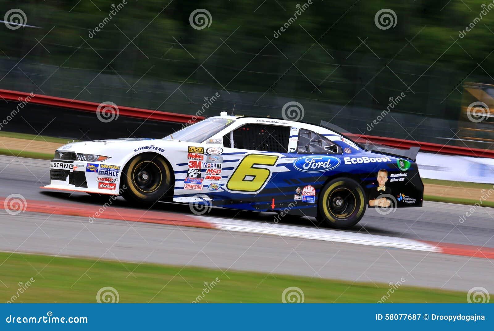 NASCAR Race Driver Darrell Wallace Jr Editorial Photography - Image
