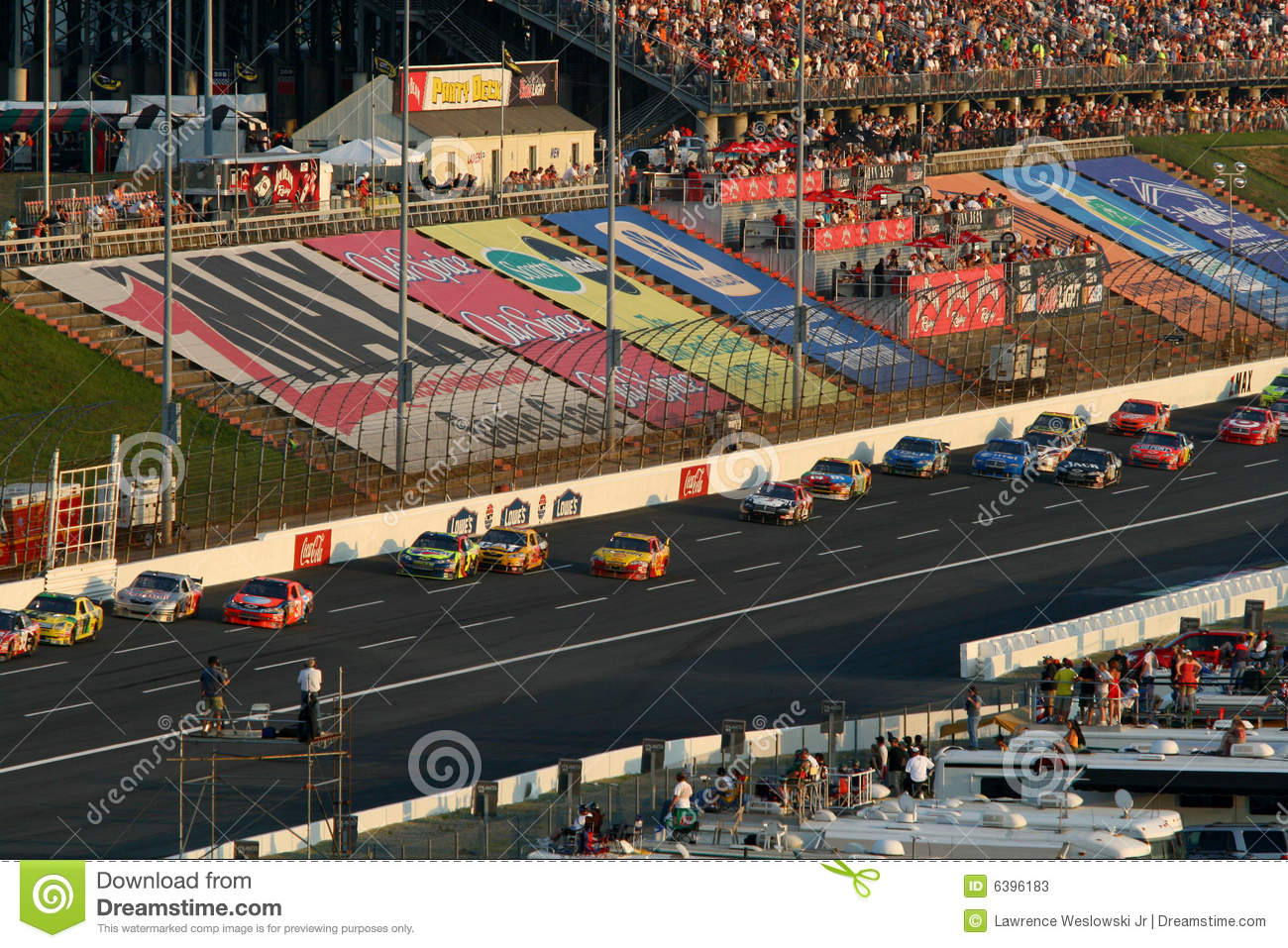 Nascar racing at lowes editorial stock photo image for Lowe s motor speedway