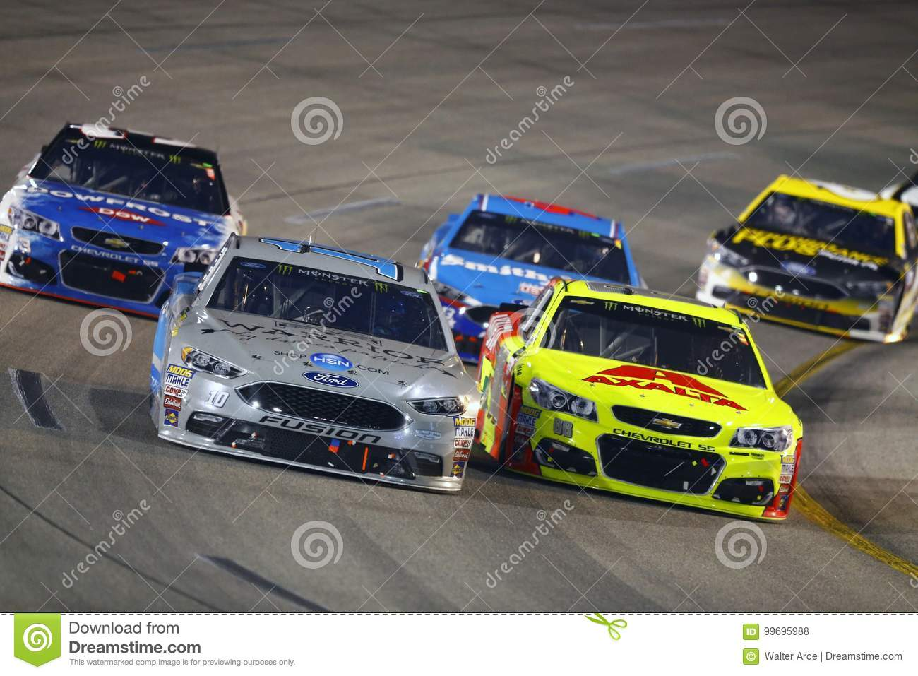 Nascar September 09 Federated Auto Parts 400 Editorial
