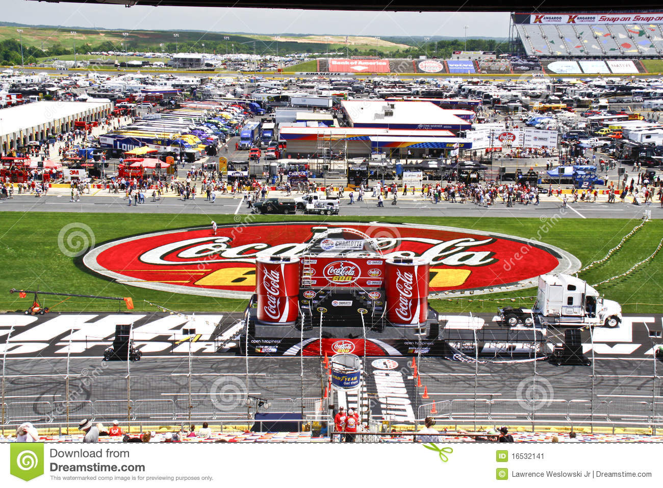 NASCAR - Setting the Stage for the Coca Cola 600