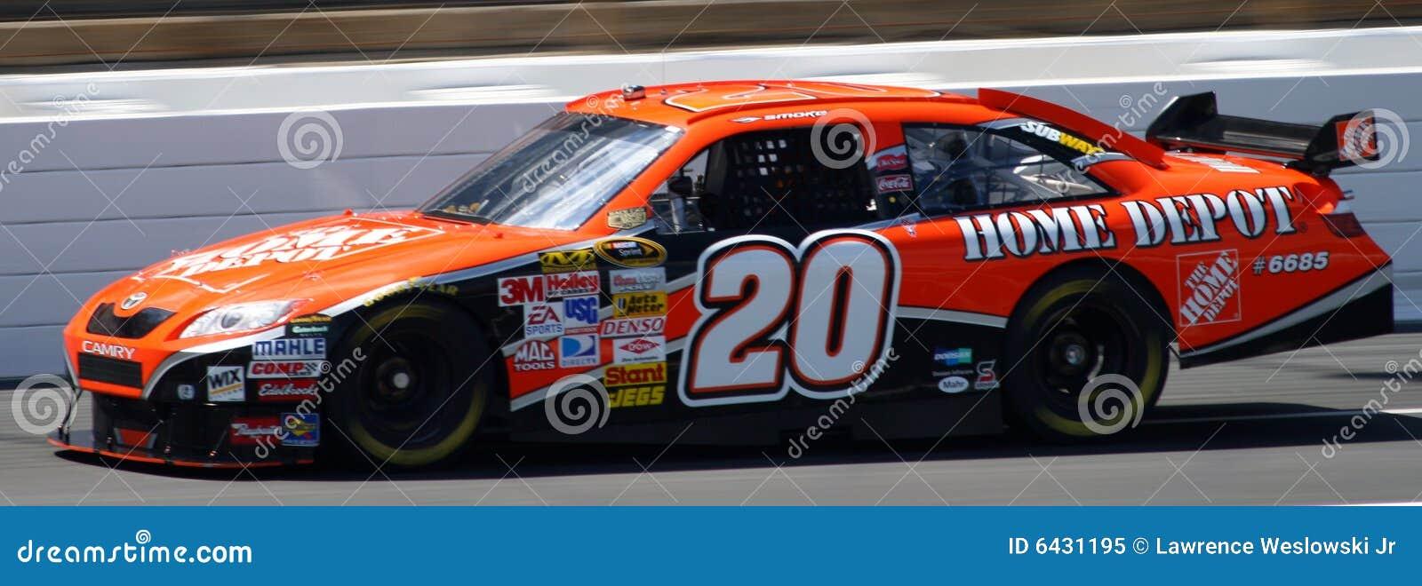 Home Depot Race Car Driver