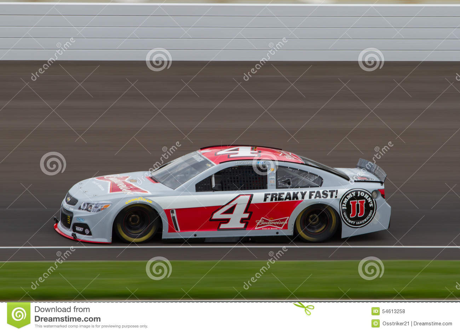 NASCAR test