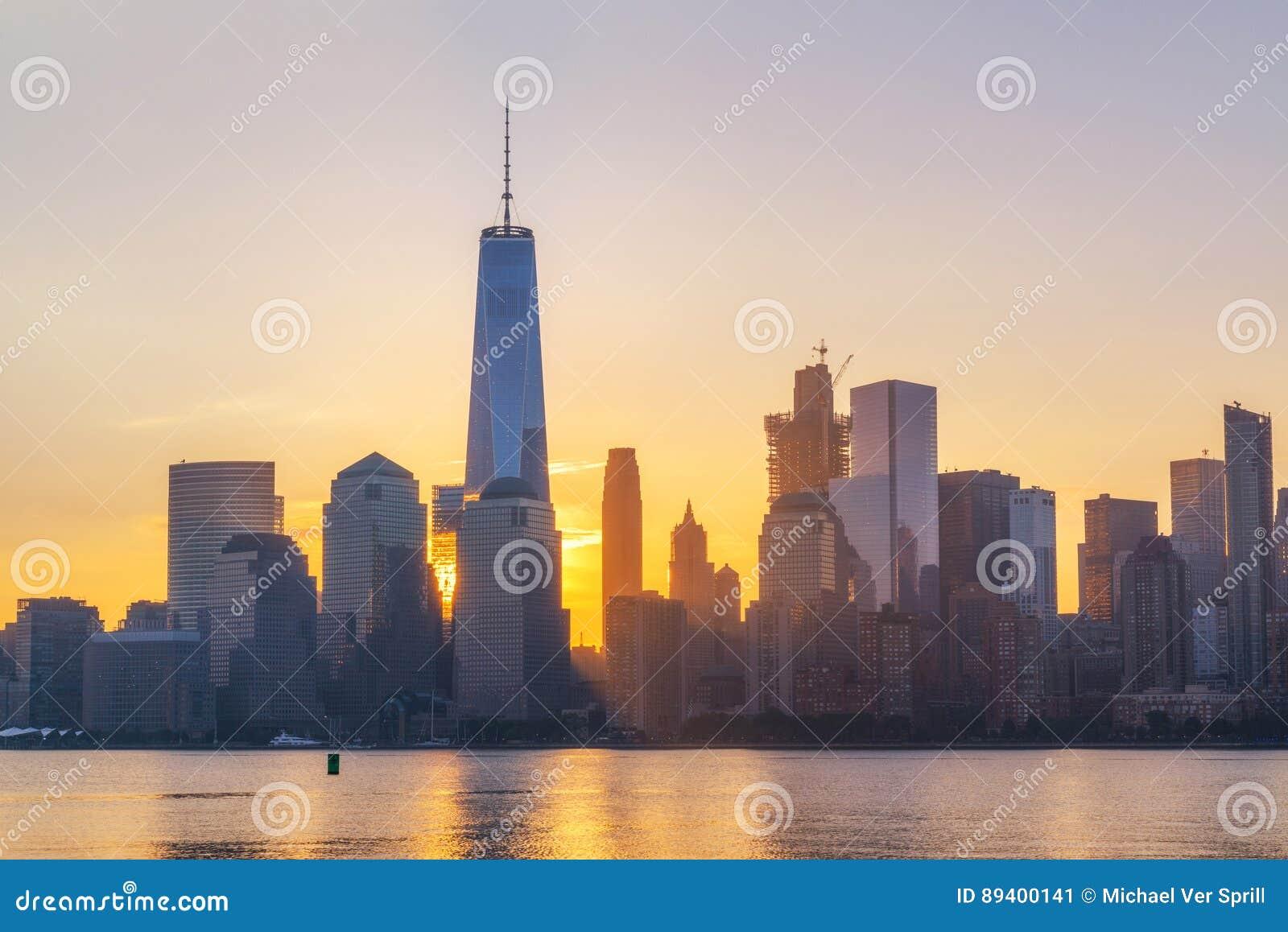 Nascer do sol de Freedom Tower