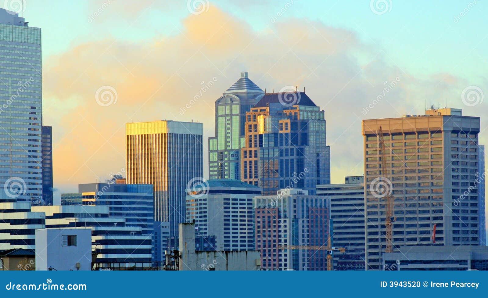 Nascer do sol de Seattle