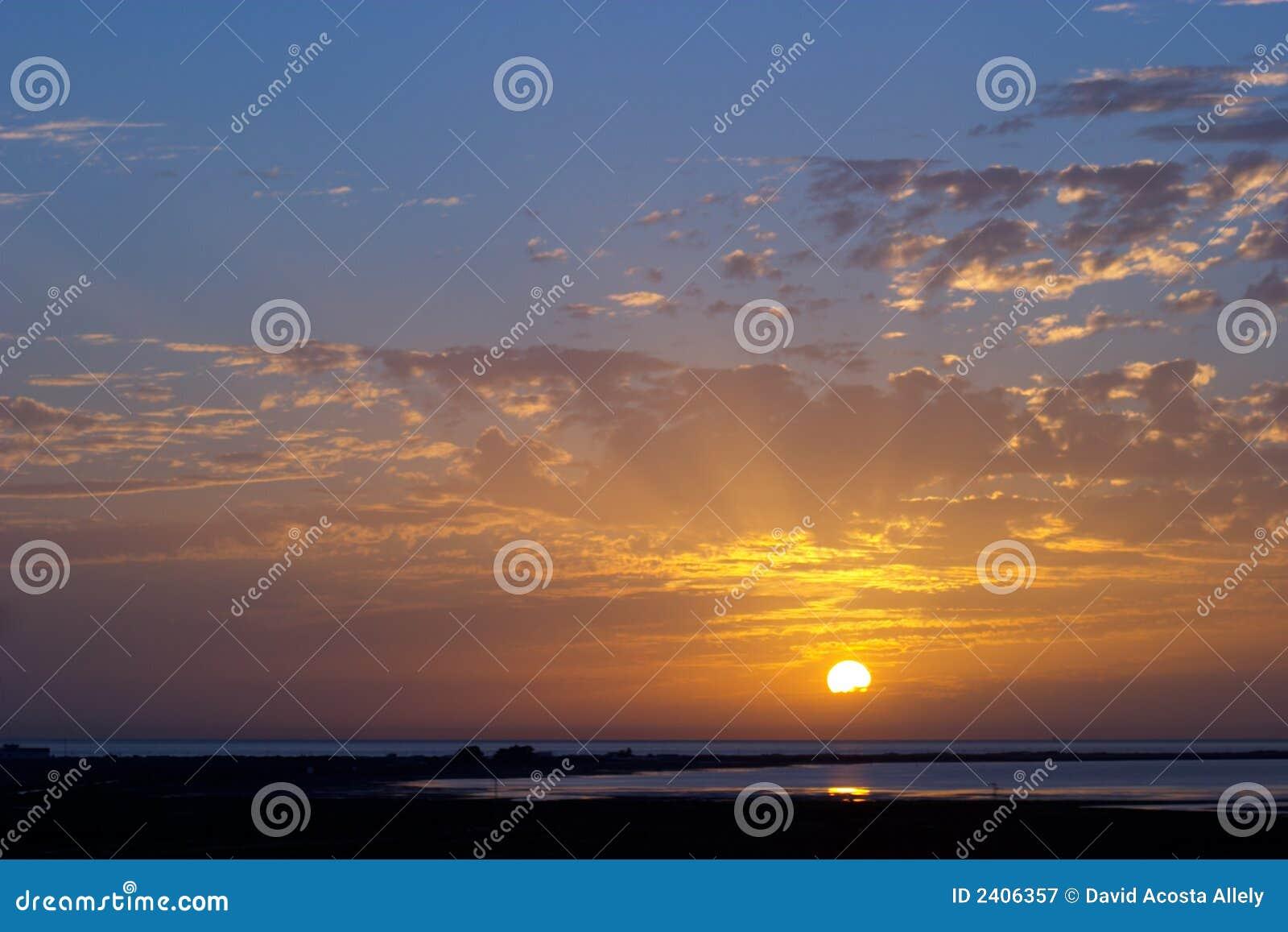 Nasceres do sol e por do sol