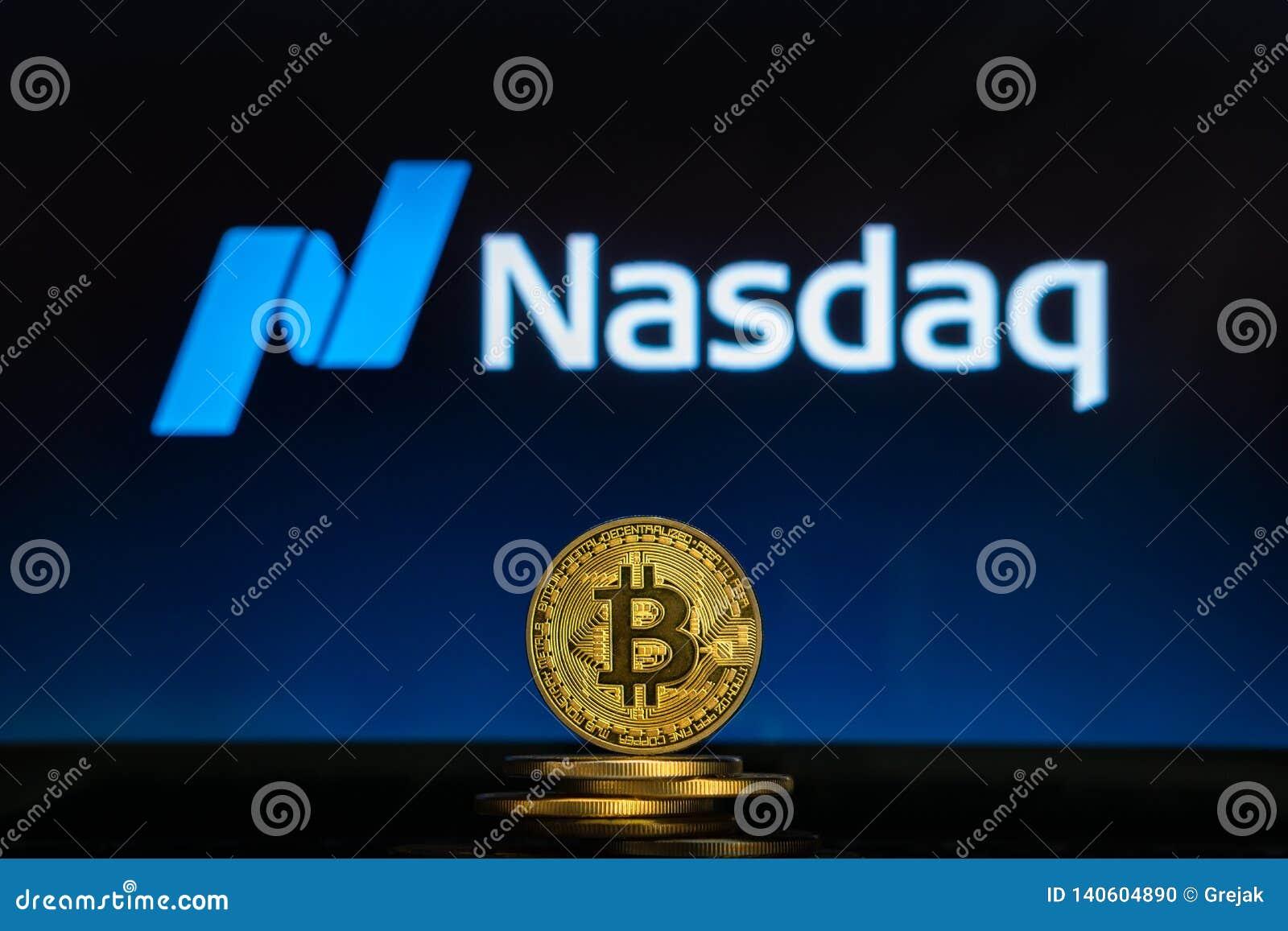 bitcoin nasdaq symbol