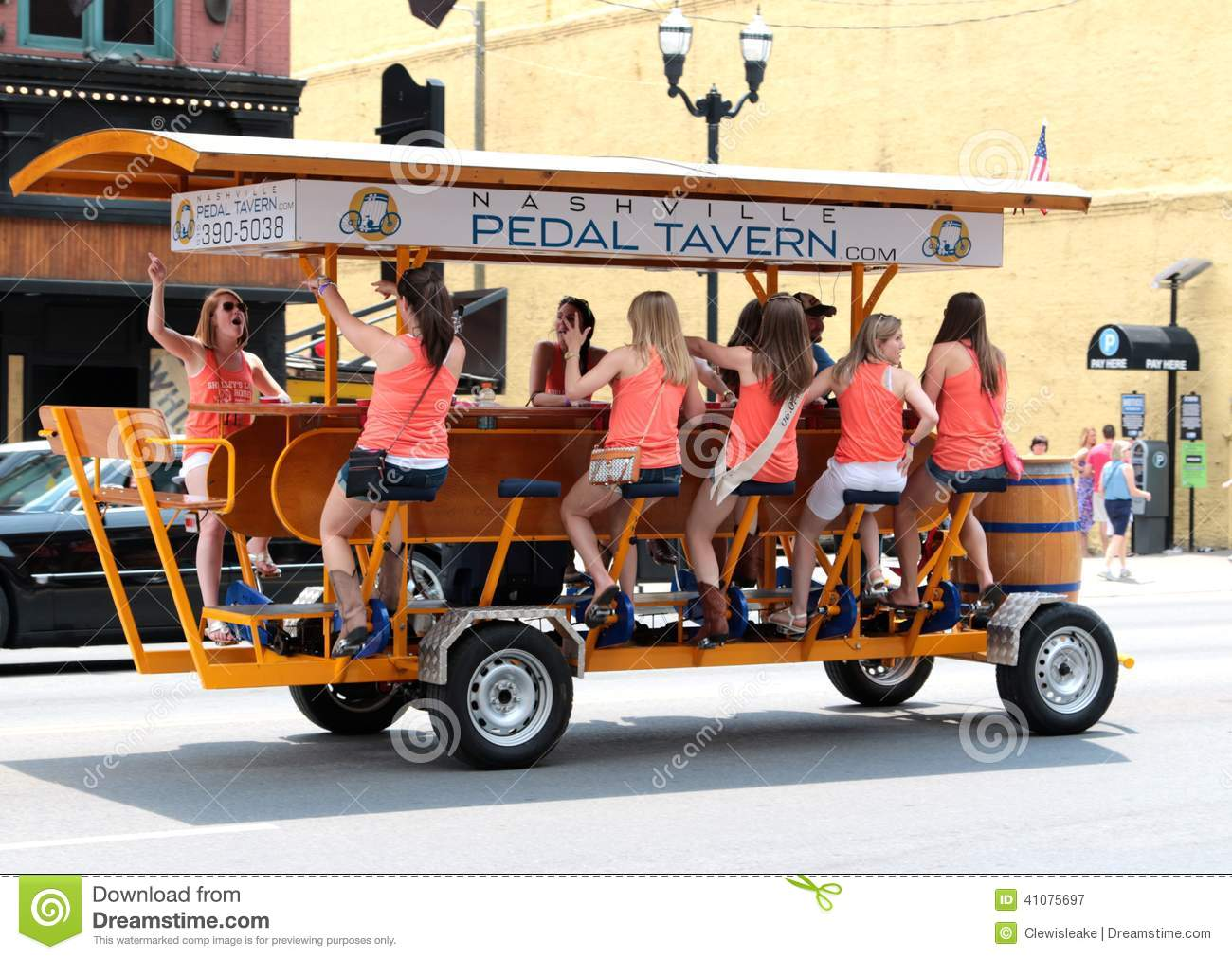 The Nashville Pedal Tavern Editorial Photography - Image ...
