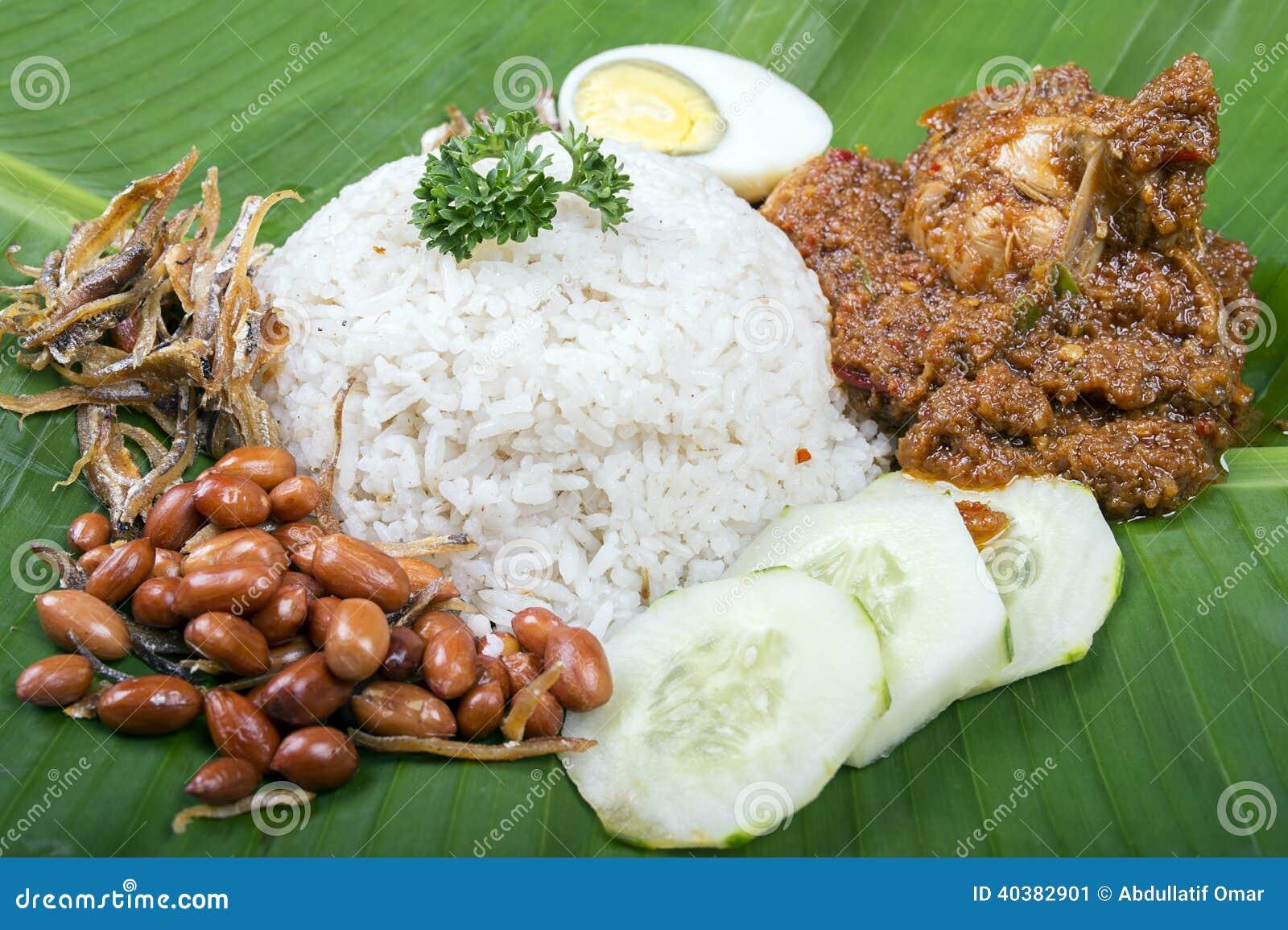 how to cook nasi lemak rice video