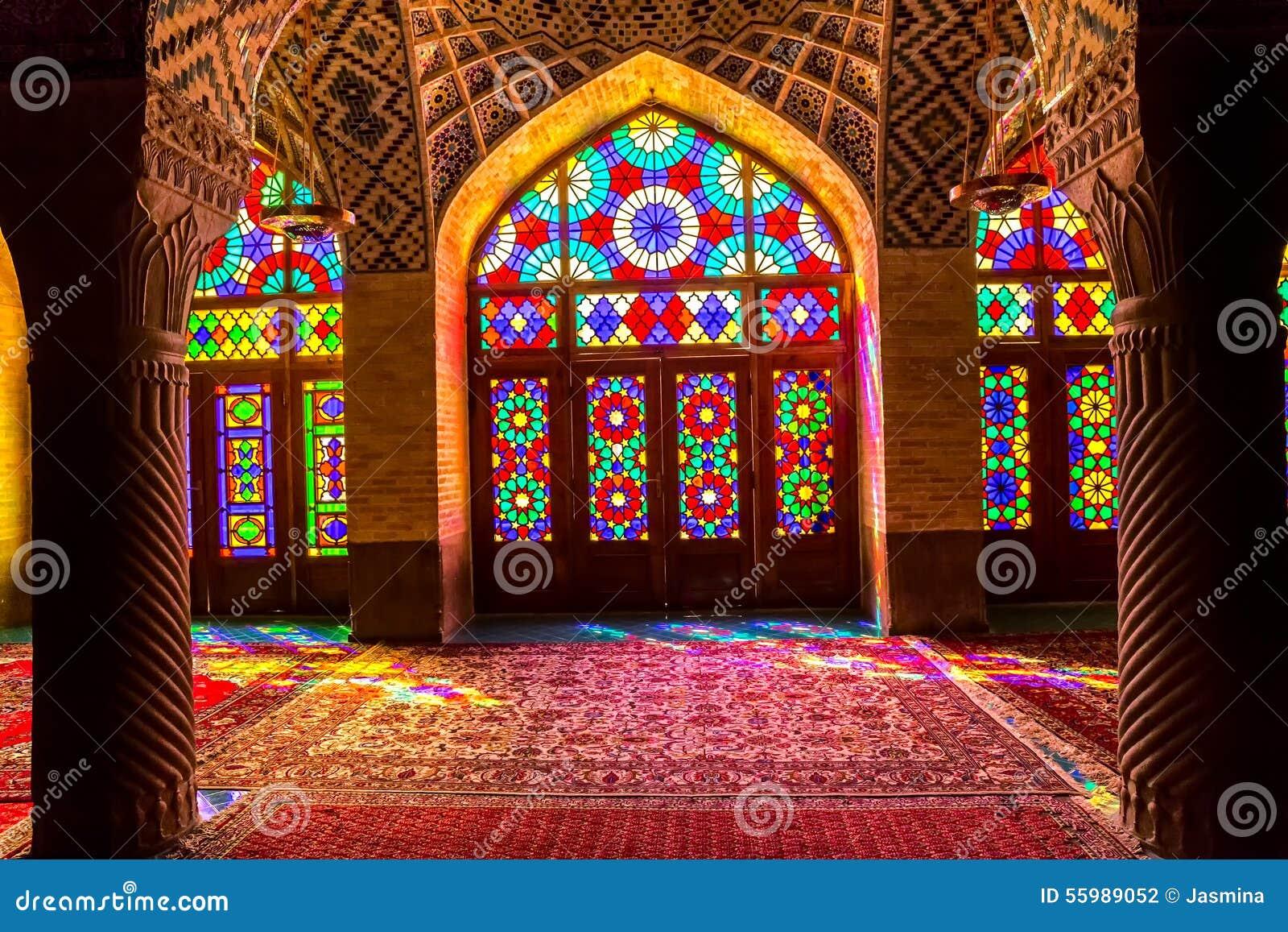 Nasir al meczetu wnętrze