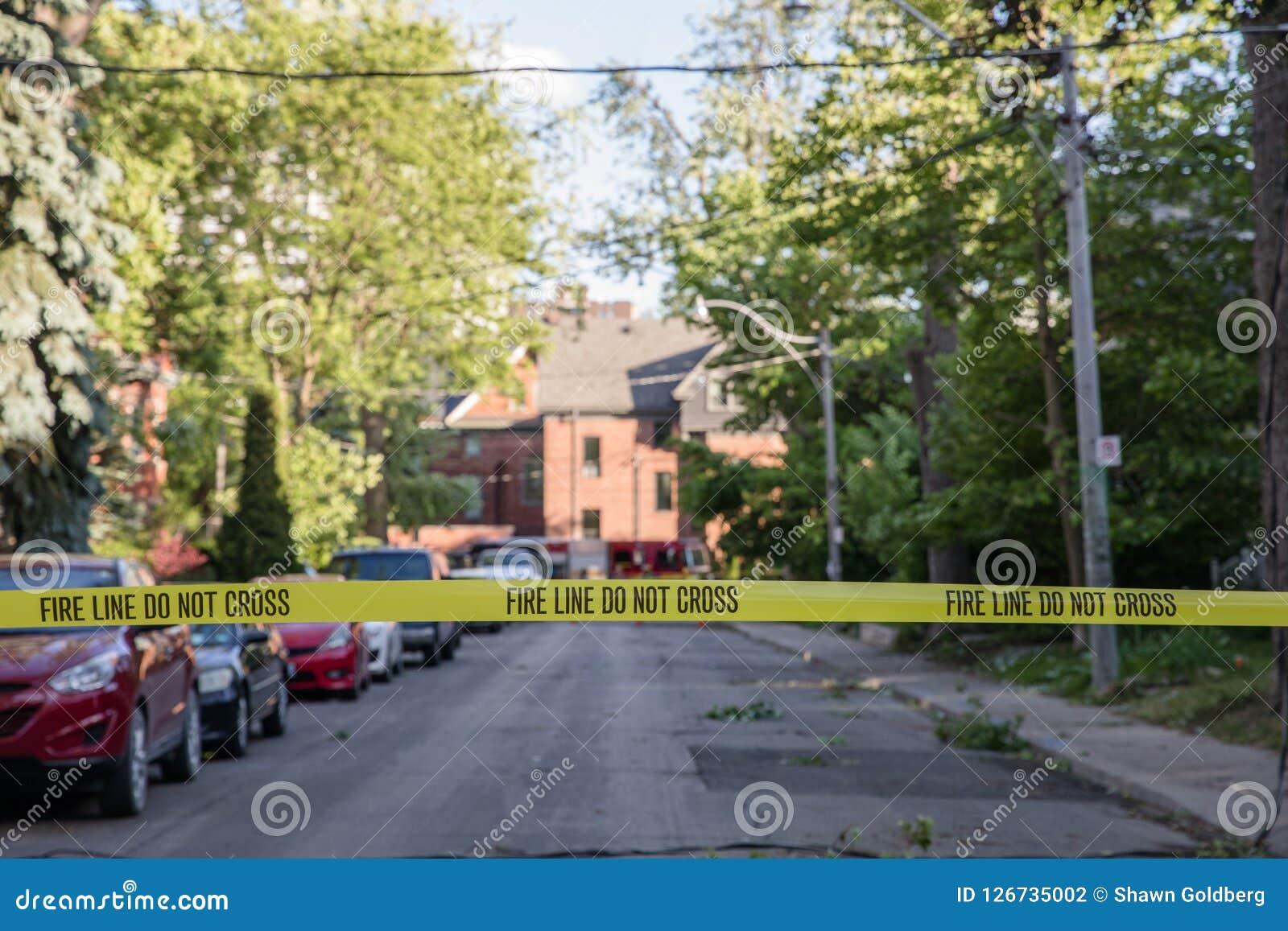 Nasleep van massieve stortbui op het Bijlagegebied in Toronto