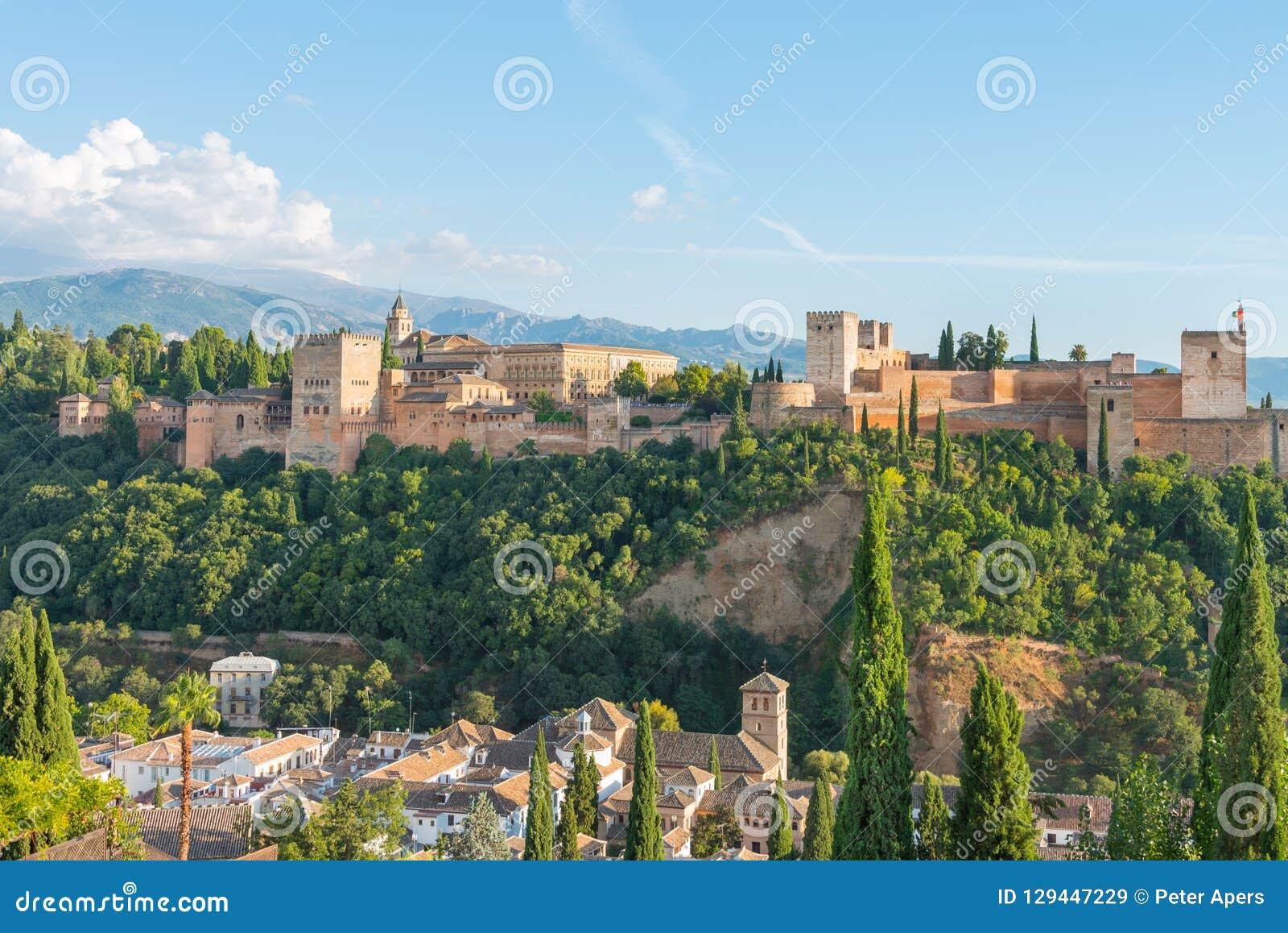 Nasrid Palaces and Alcazaba, Alhambra and Albaicin, Granada