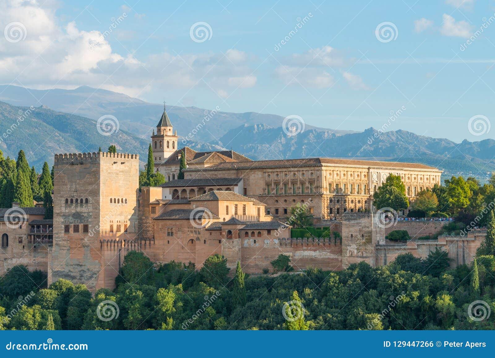 Nasrid Palaces and Palace Charles V, Alhambra, Granada