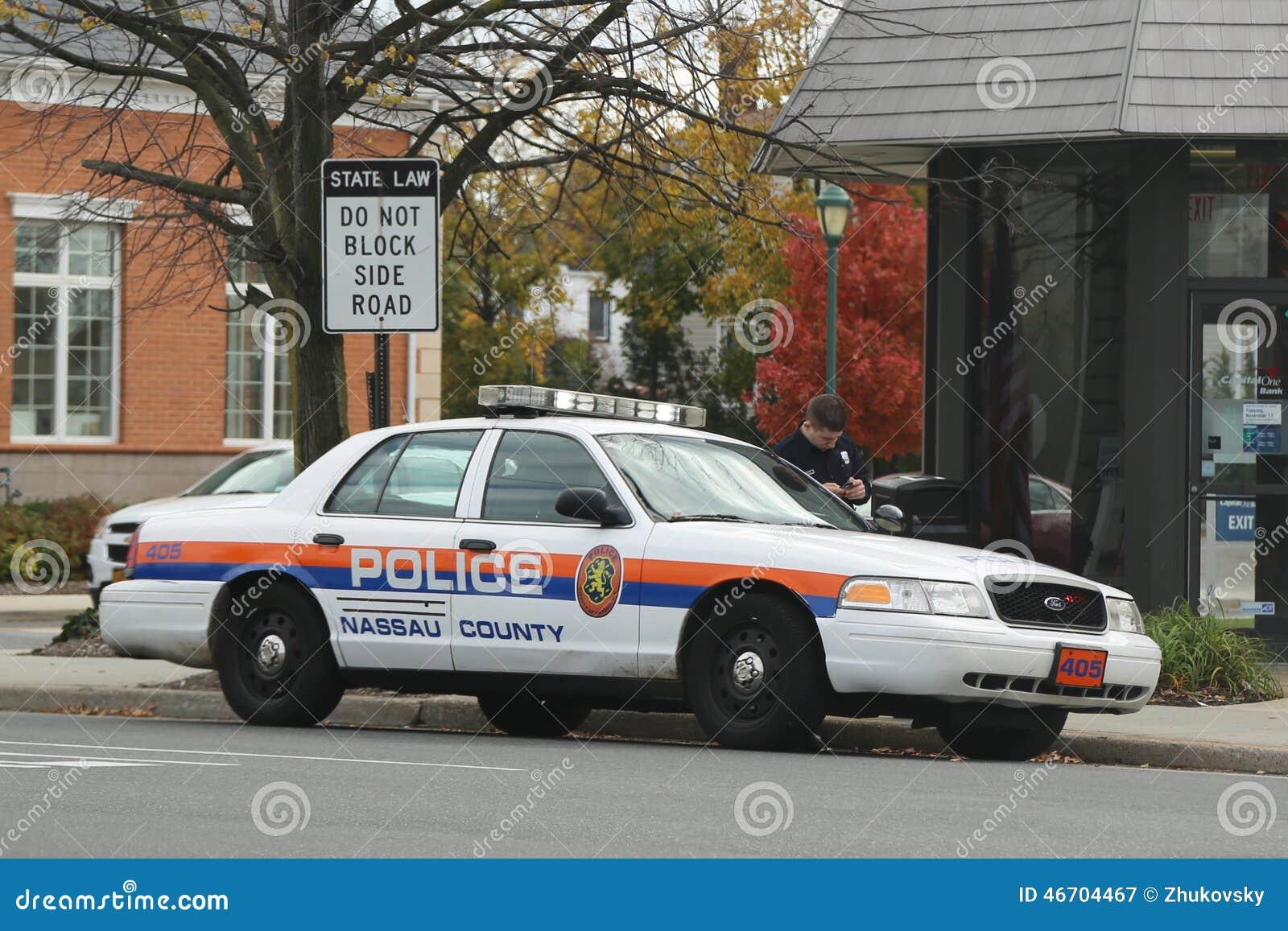 Nassau County polisenbil