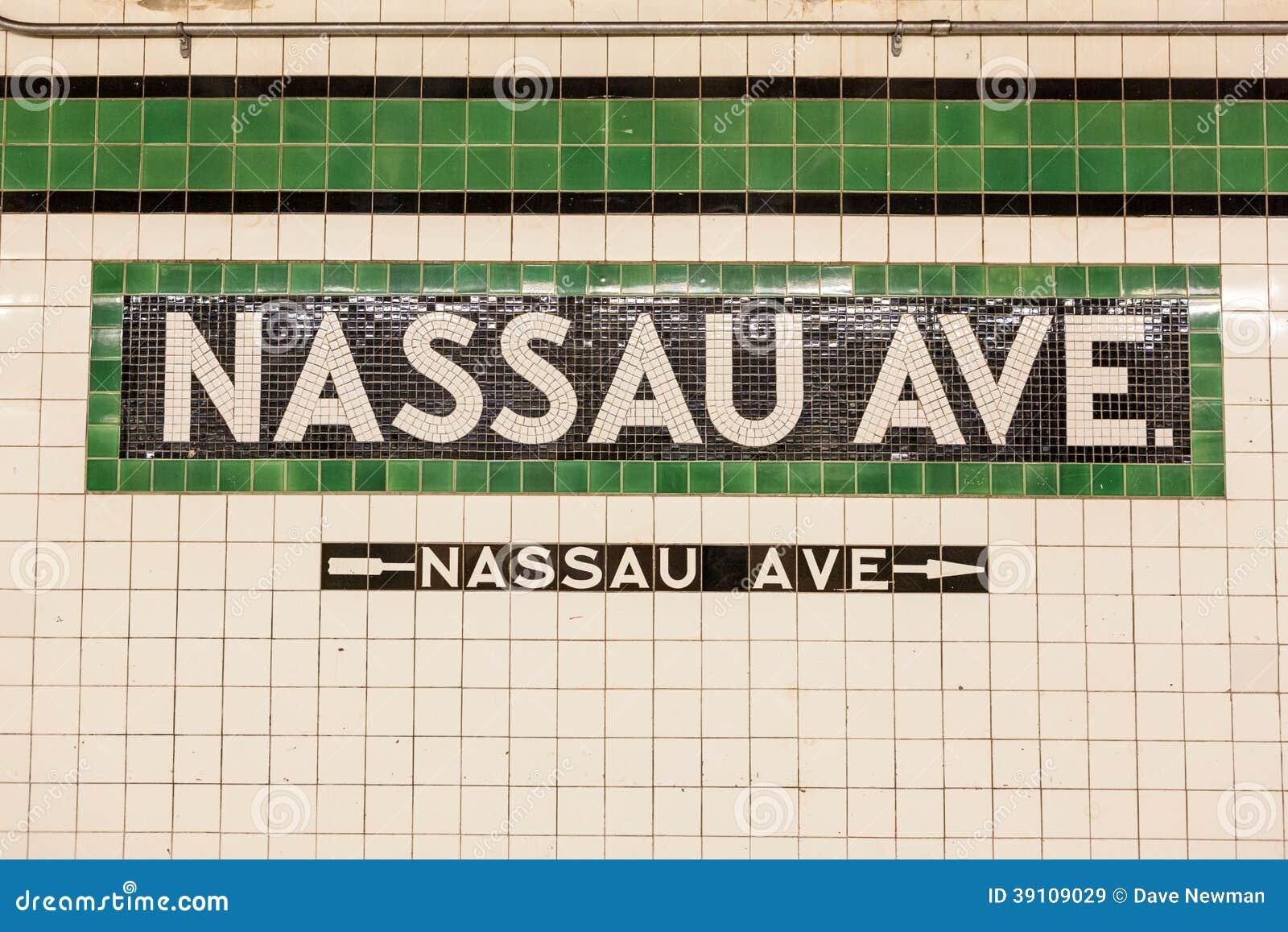 Nassau de Postteken van de Wegmetro