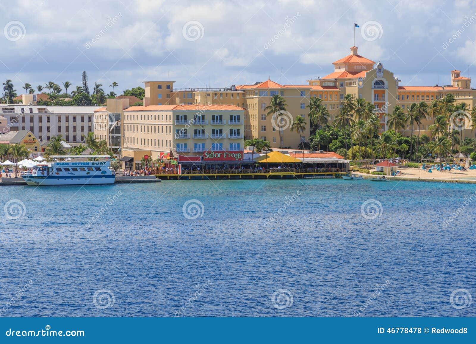 Nassau van de binnenstad, de Bahamas