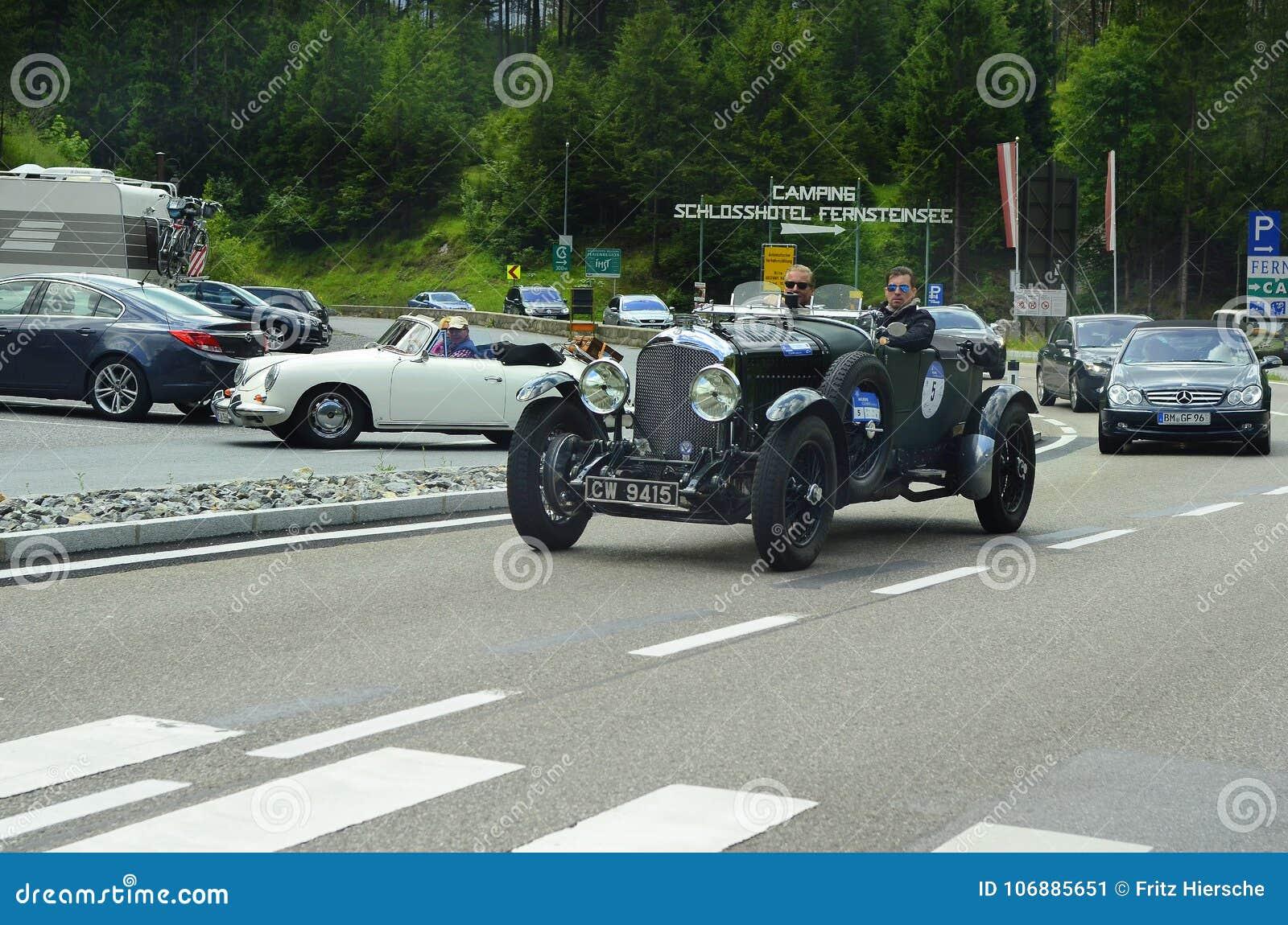 Austria, Motorsport, Vintage Cars Editorial Photo - Image of tirol ...