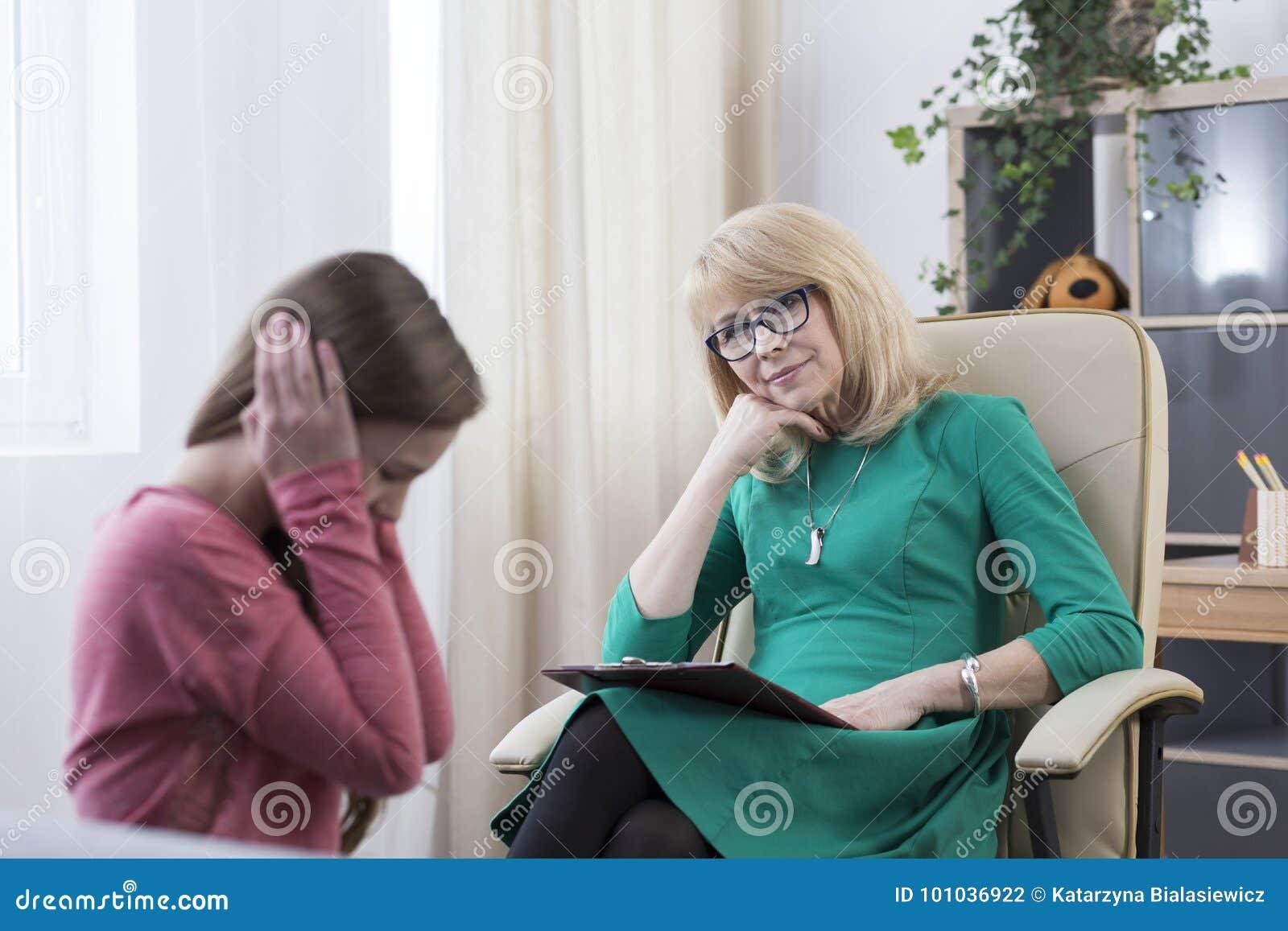 Nastolatek z depresją ma terapię
