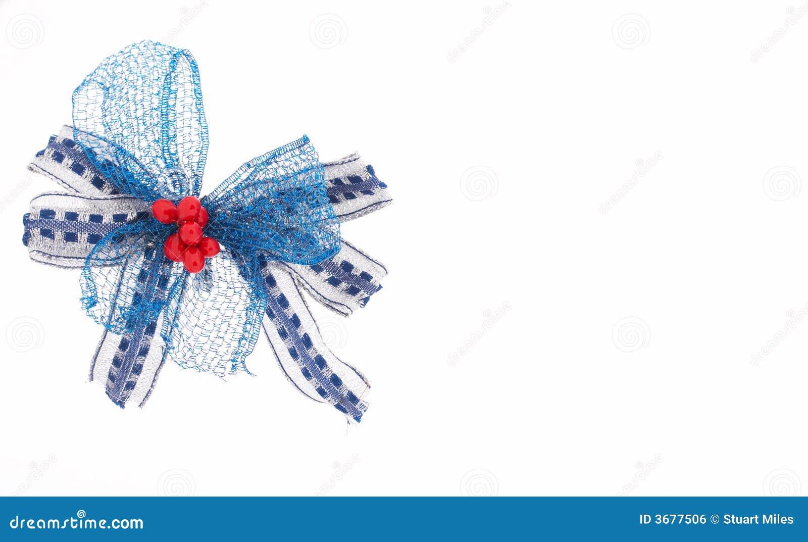 Download Nastro blu fotografia stock. Immagine di background, arco - 3677506