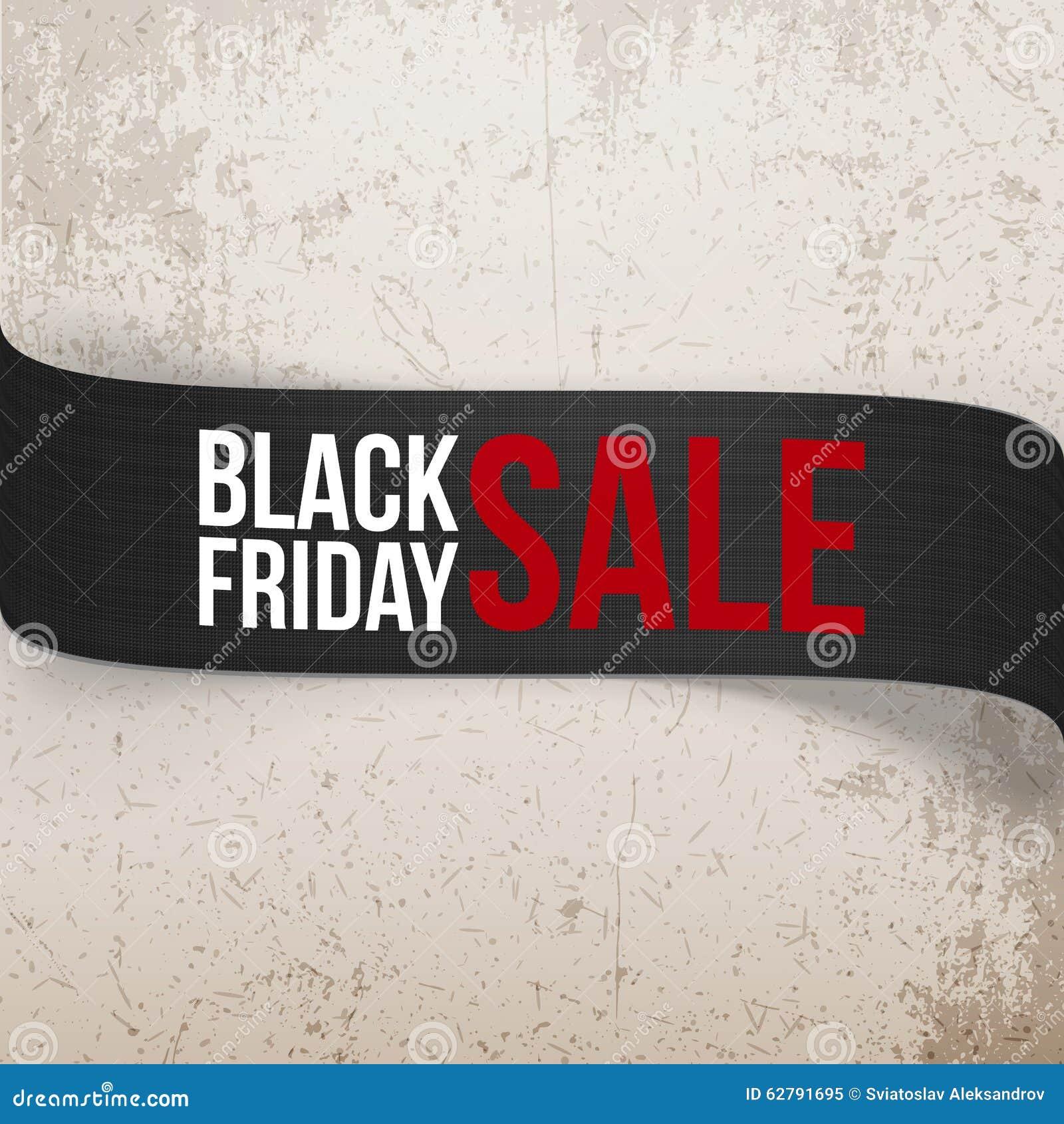 Nastro di vettore della curvatura di vendita di Black Friday