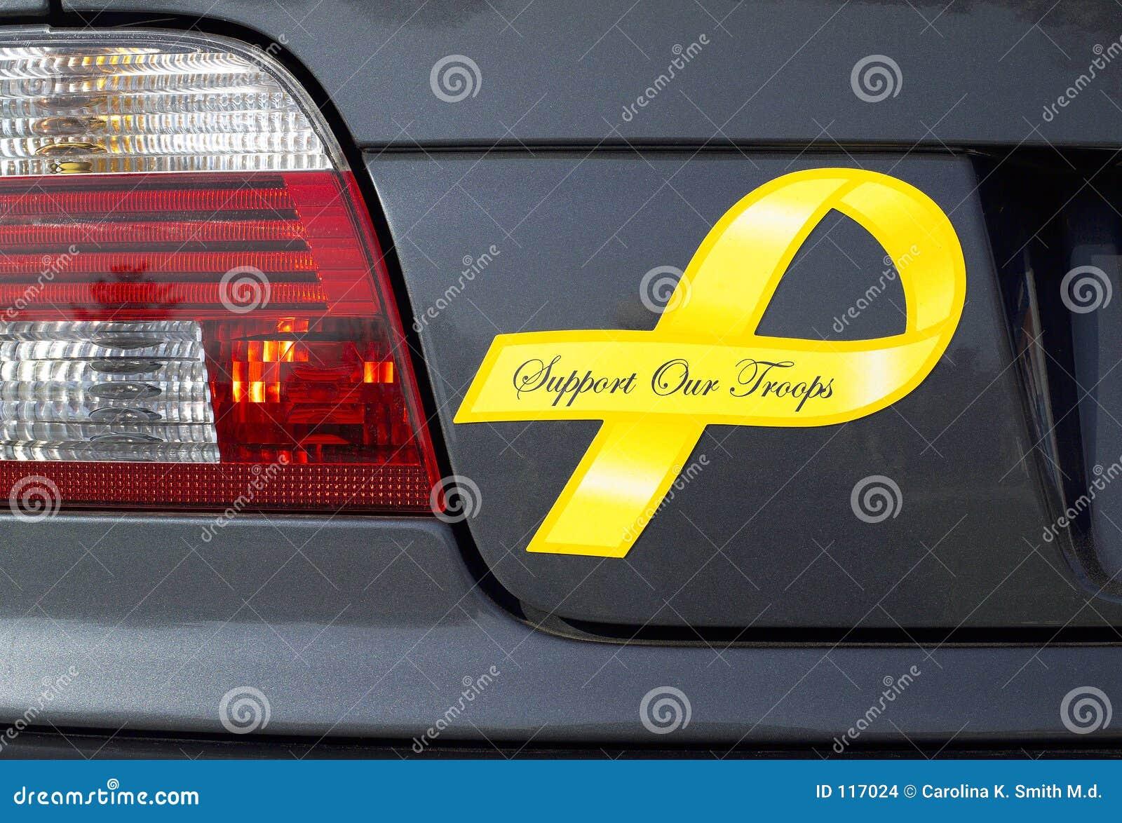Nastro giallo delle truppe