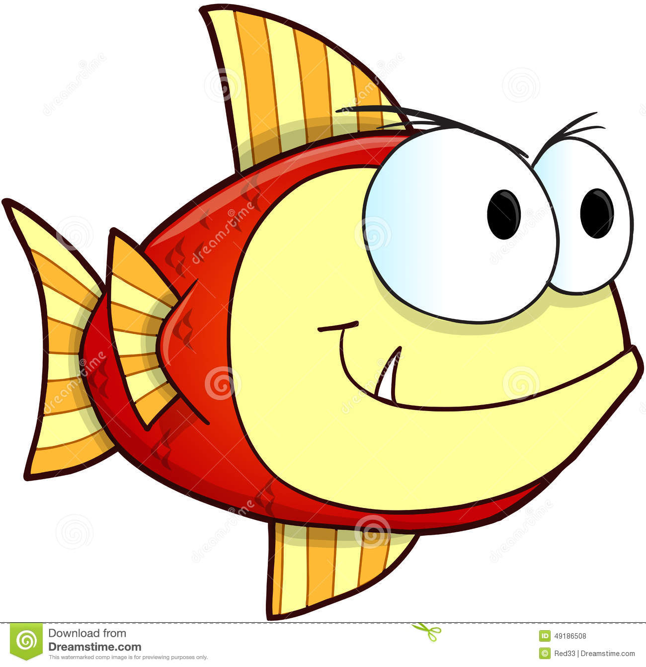 Nasty fish vector stock vector image 49186508 for What does it mean to dream about fish