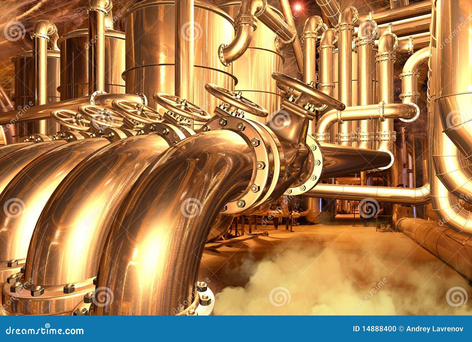 Natürliche Erdgasleitung