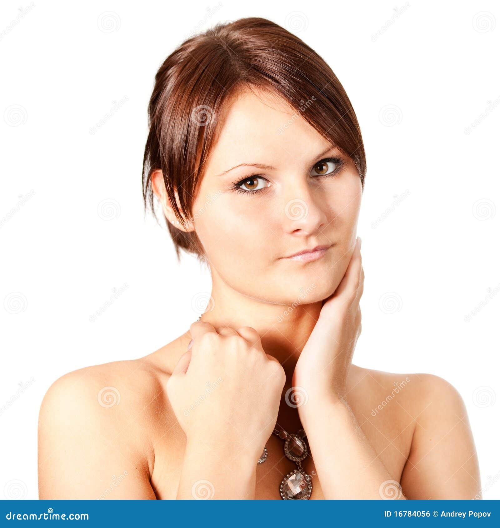 Traumhaft Schone Frau Photography: Natürliche Schöne Frauen Stockfoto. Bild Von Verfassung