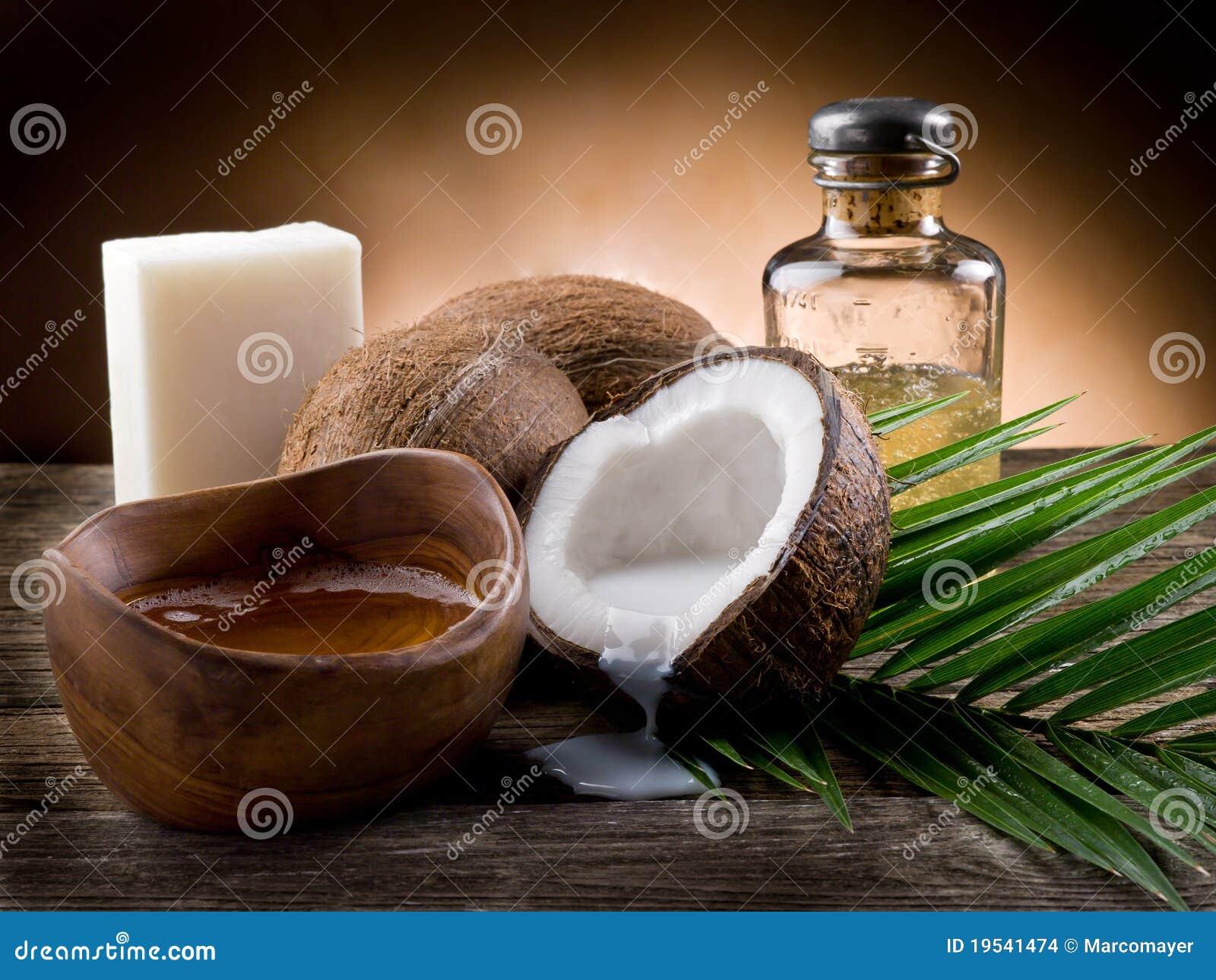 Natürliches Kokosnusswalnußschmieröl