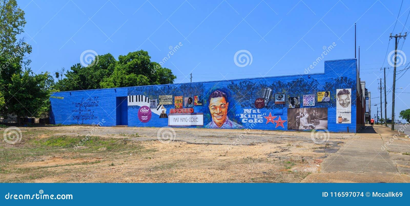 Nat King Cole Dedication Mural o fachada