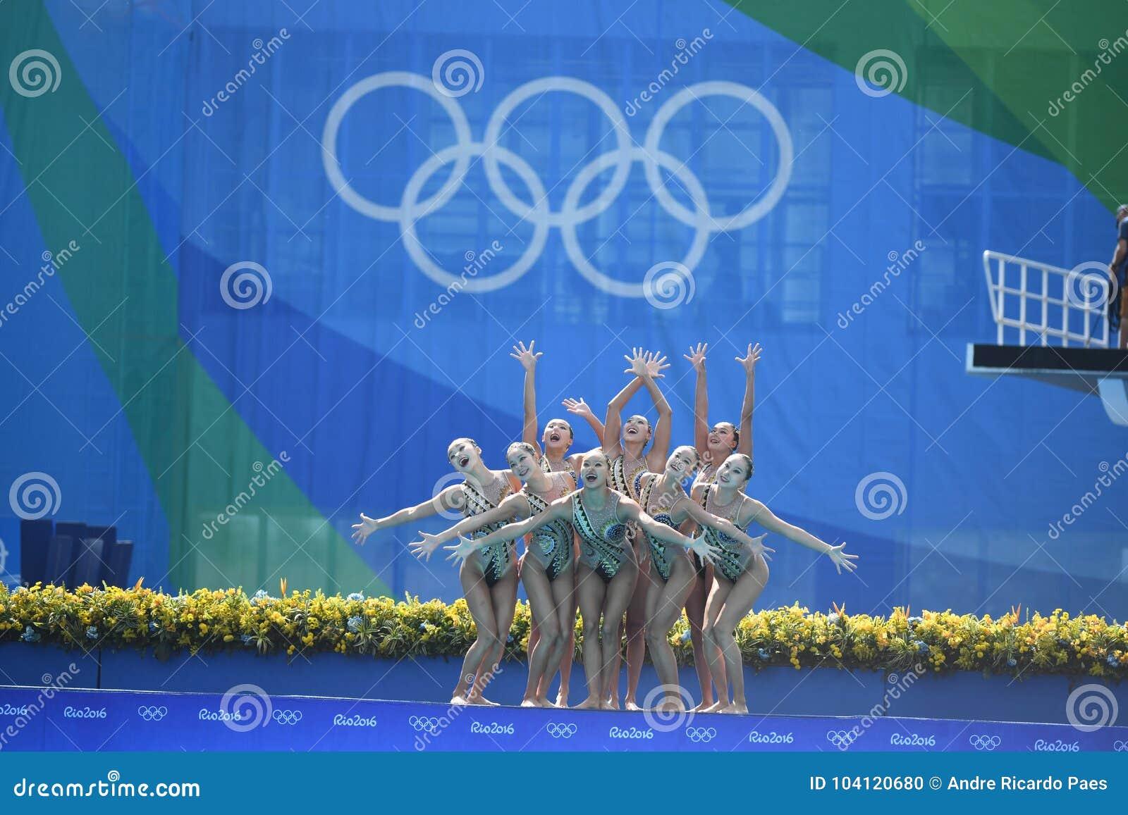 Natación sincronizada en de los Juegos Olímpicos