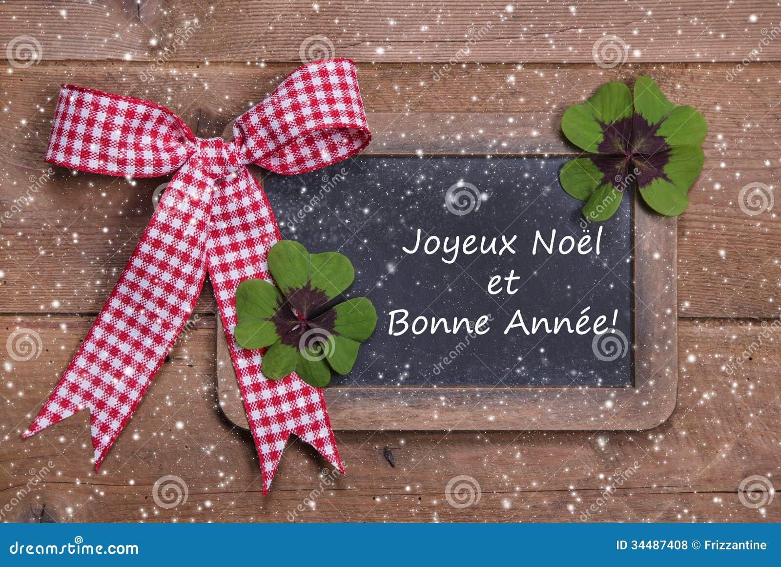 Natal E Ano Novo Feliz Em Palavras Francesas Fotos de Stock Royalty  #B01B39 1300 960