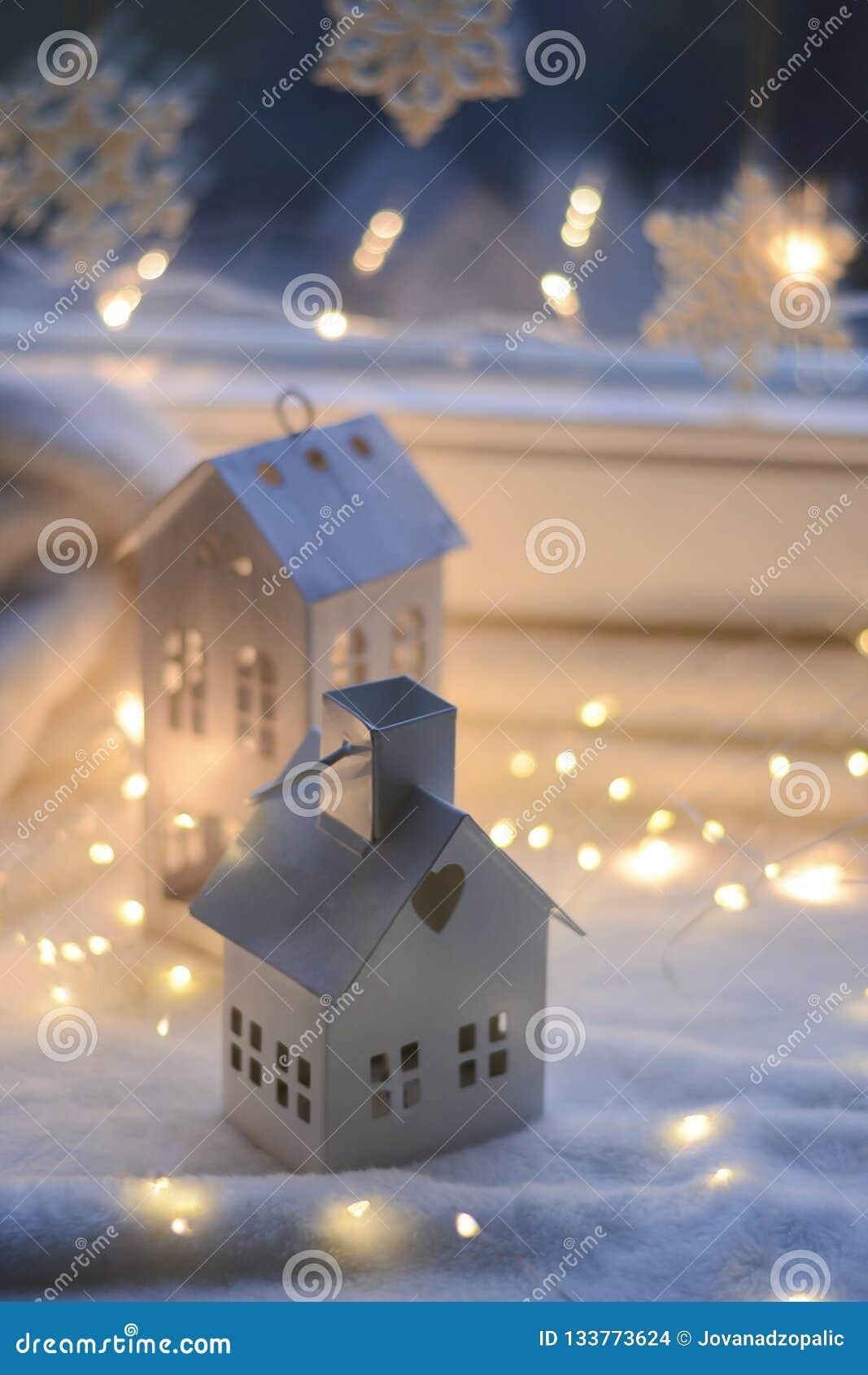 Natal e presentes e decoração do ano novo