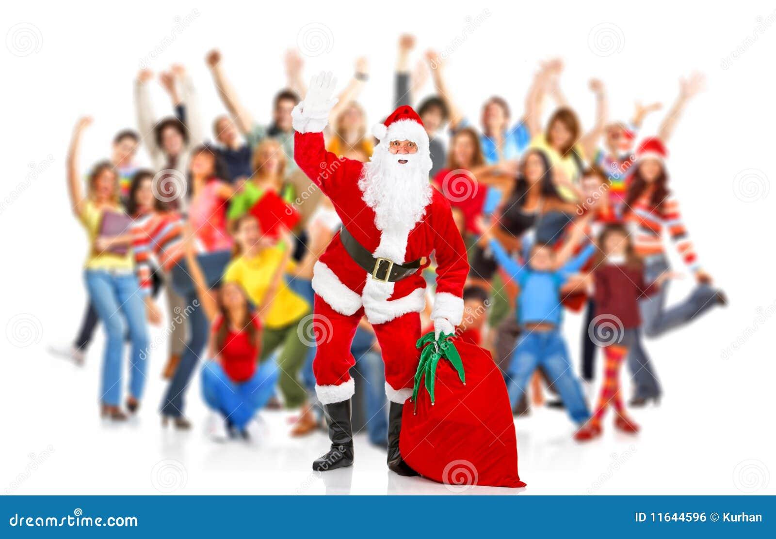 Natal feliz Santa
