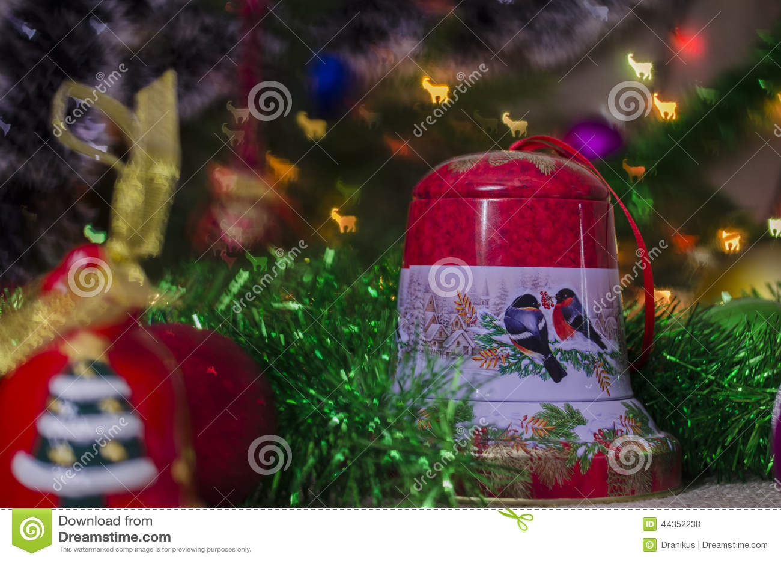 Natale, decorazione, anno, nuovo, festa, decorazione, decorata