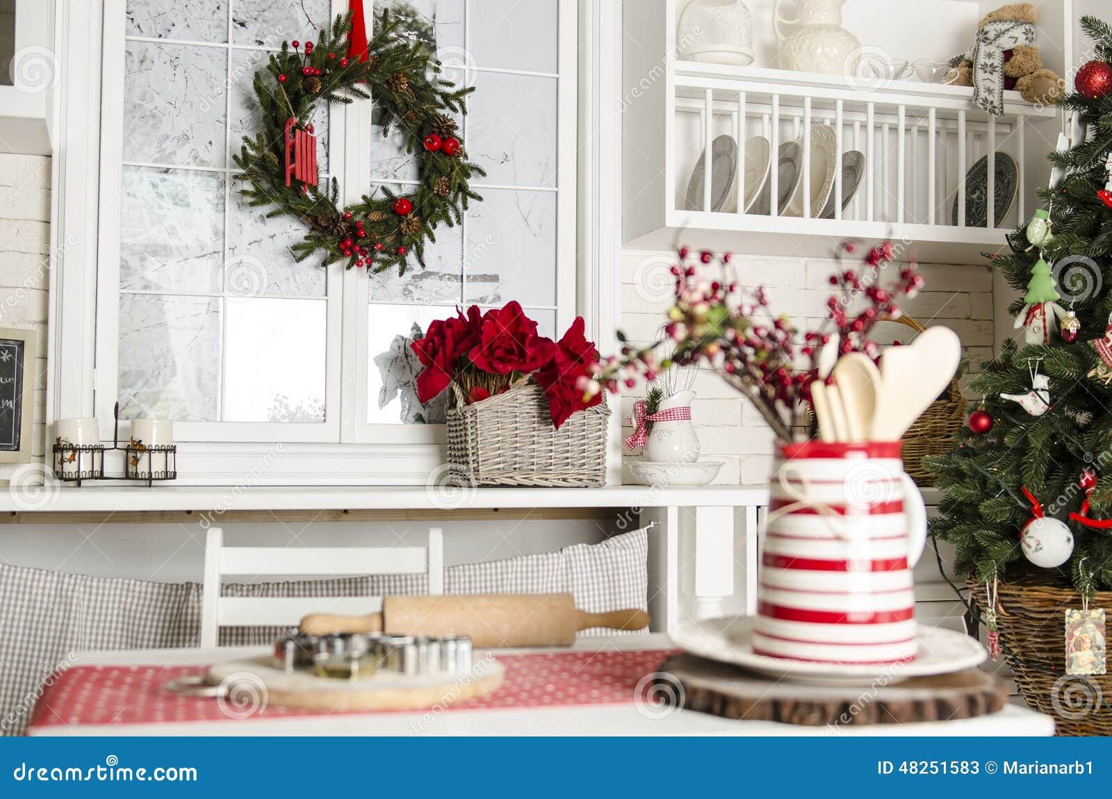 Natale E Cucina Del Nuovo Anno Con Gli Strumenti Della Cucina ...