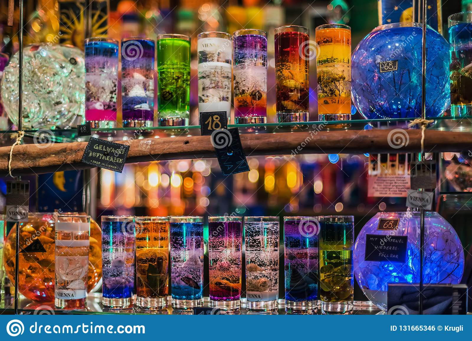 Natale Jelly Glass Candle Kiosk