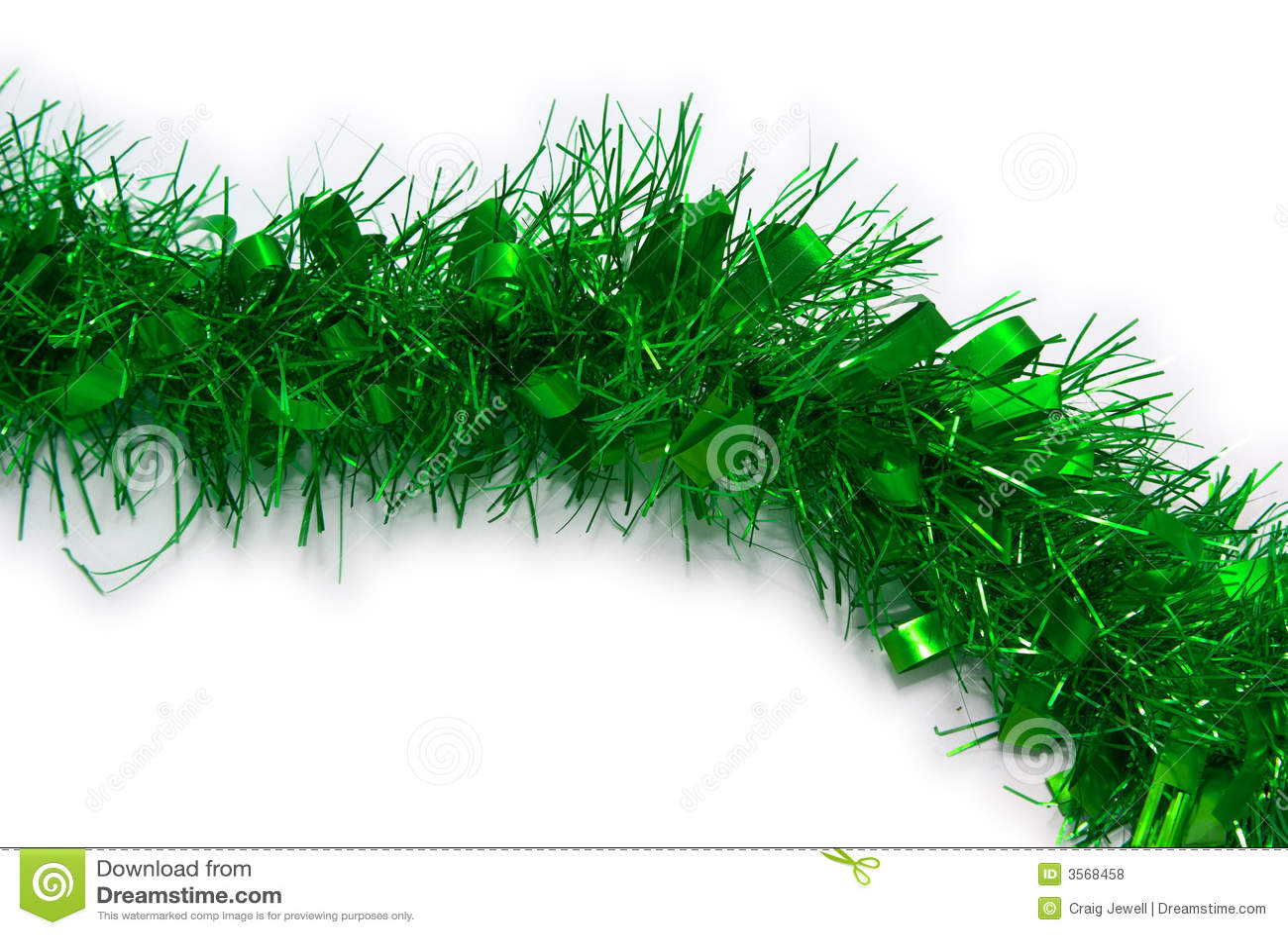 Natale verde della canutiglia