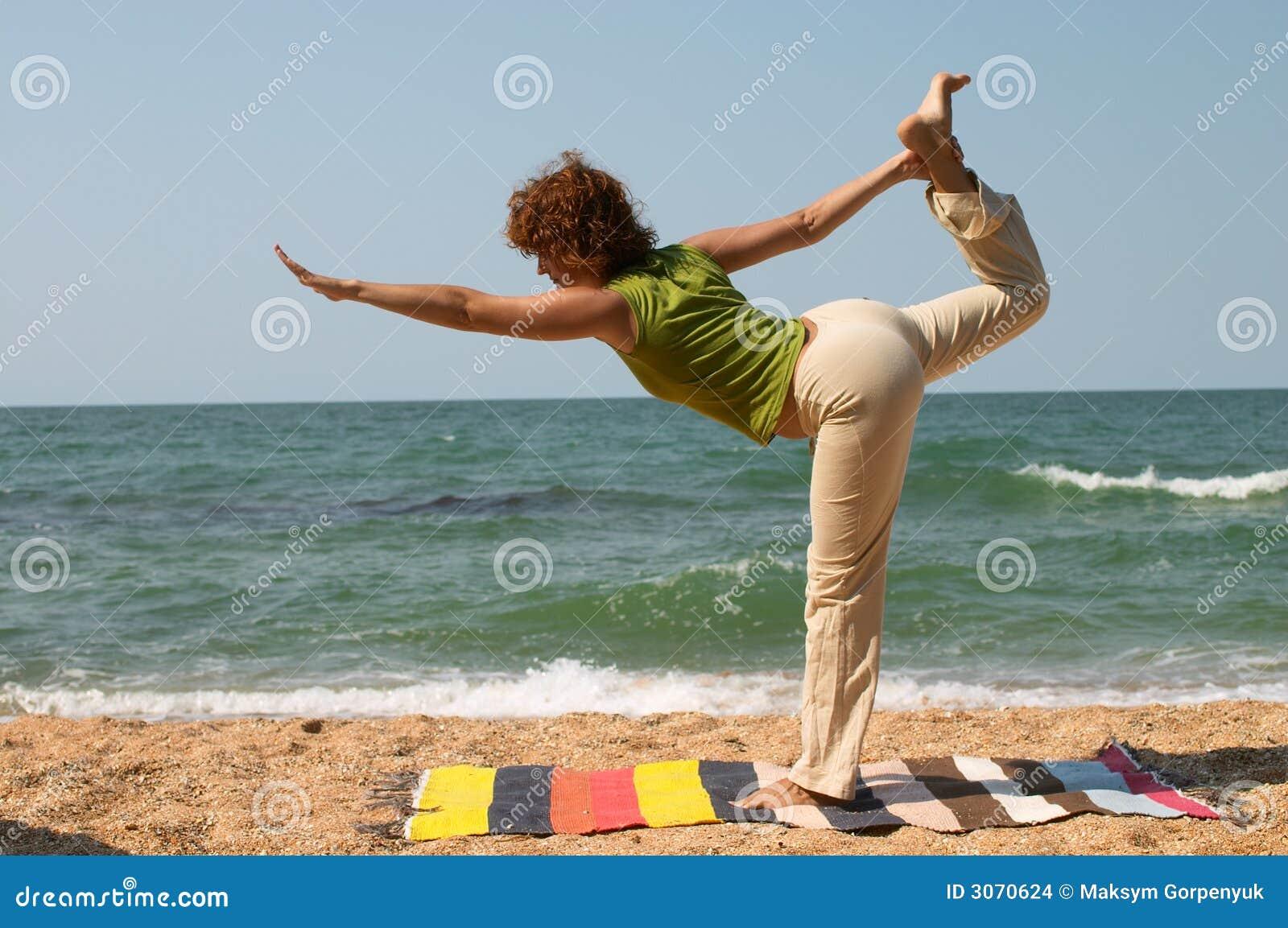 Natarajasana姿势瑜伽