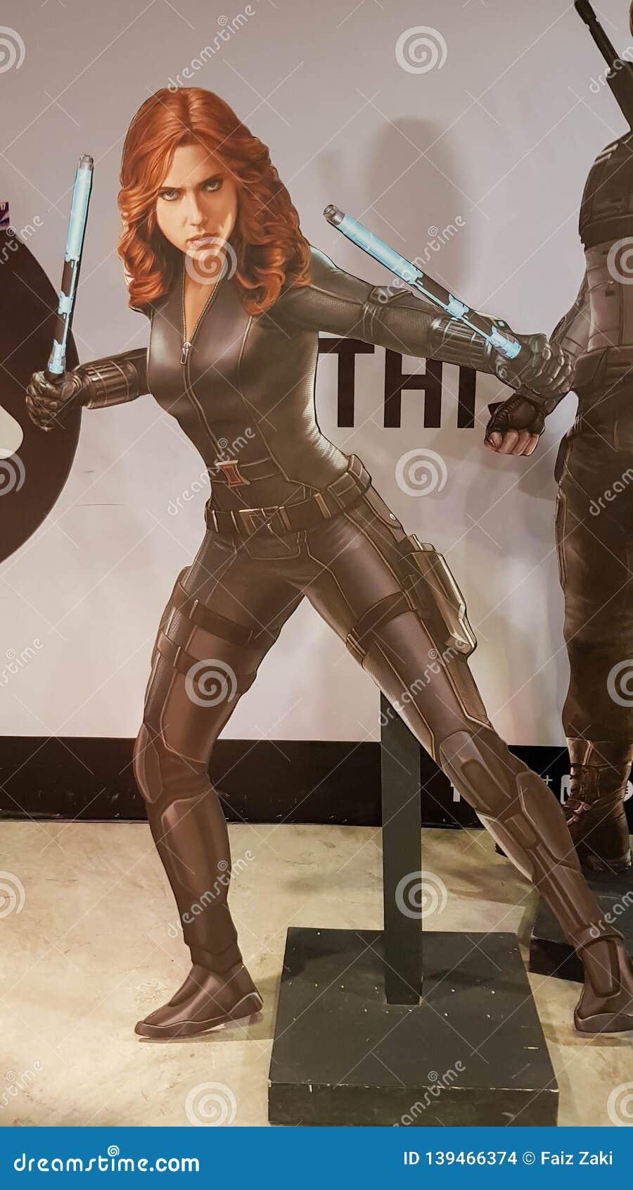 Natasha Romanoff Black Widow Rom Captain America Civil War