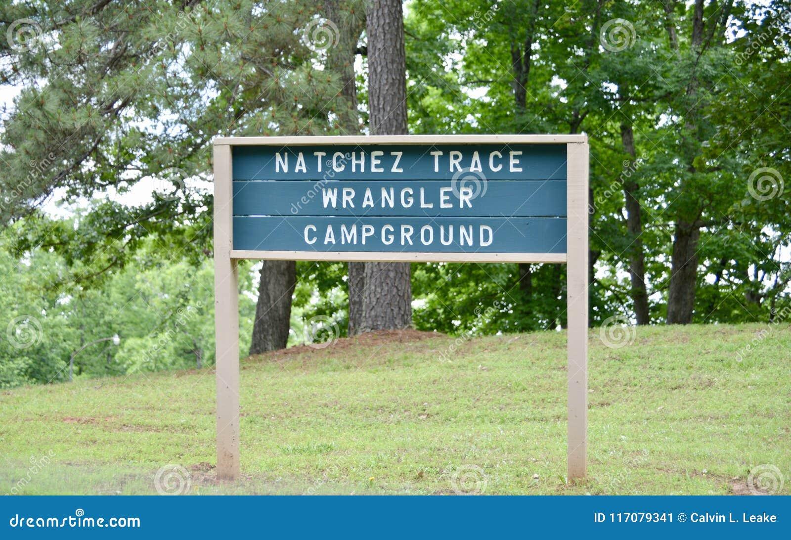 Natchez Trace Park Wrangler Campground