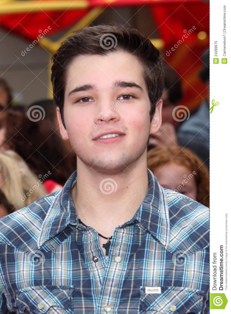 nathan kress audition icarly