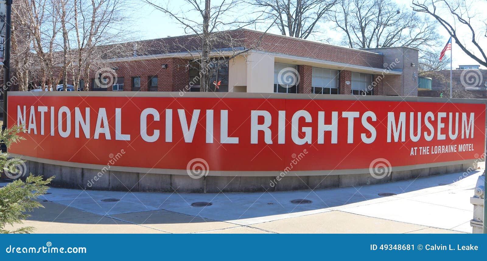 Nationaal Burgerrechtenmuseum in Lorraine Motel