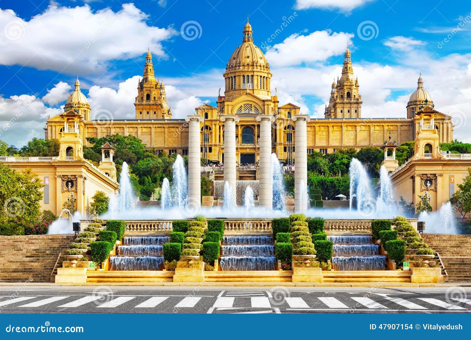 Nationaal Museum in Barcelona