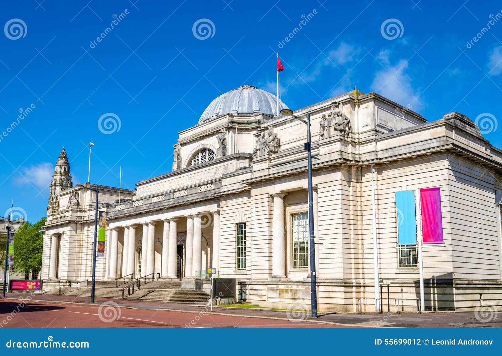 Nationaal Museum van Wales in Cardiff