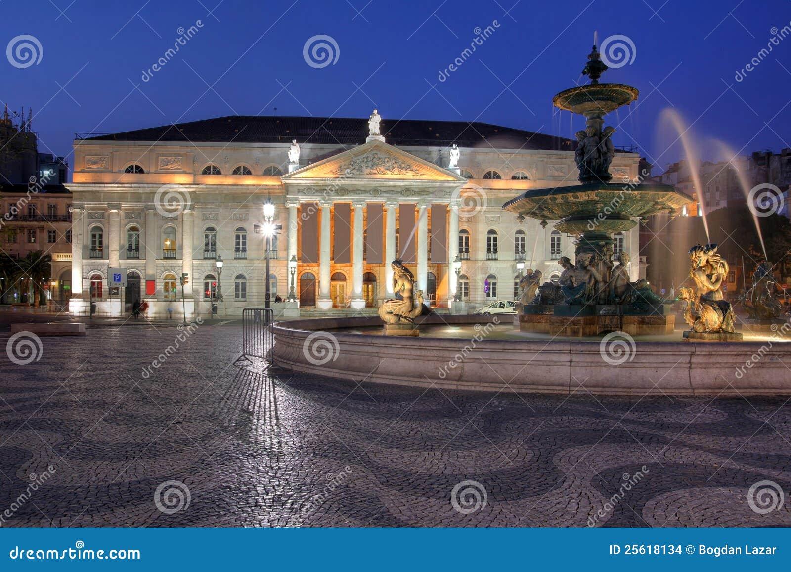 Nationaal Theater, Lissabon, Portugal