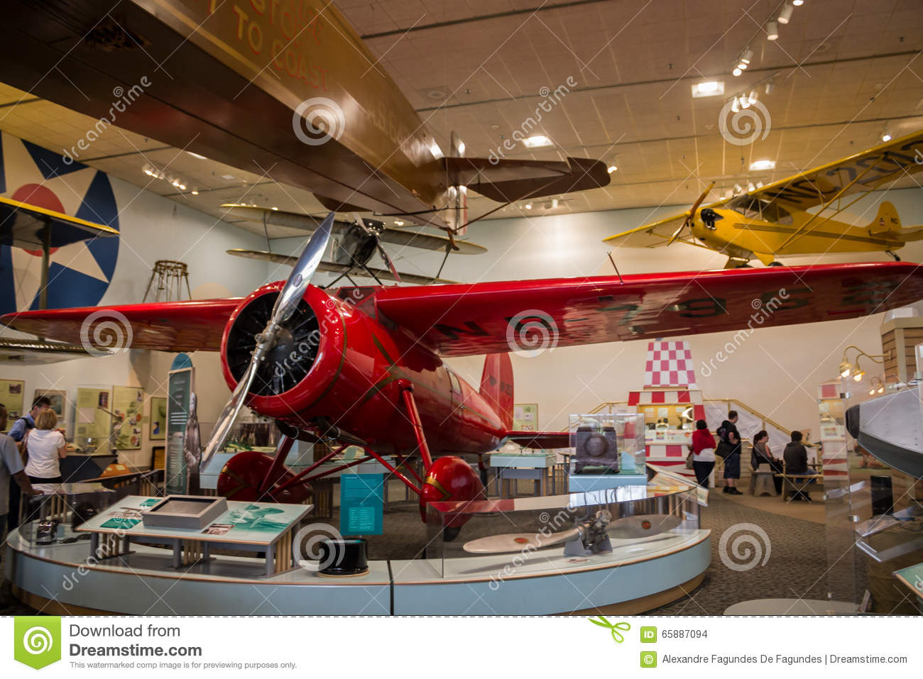 National Air And Space Museum Washington Dc Editorial Stock Image