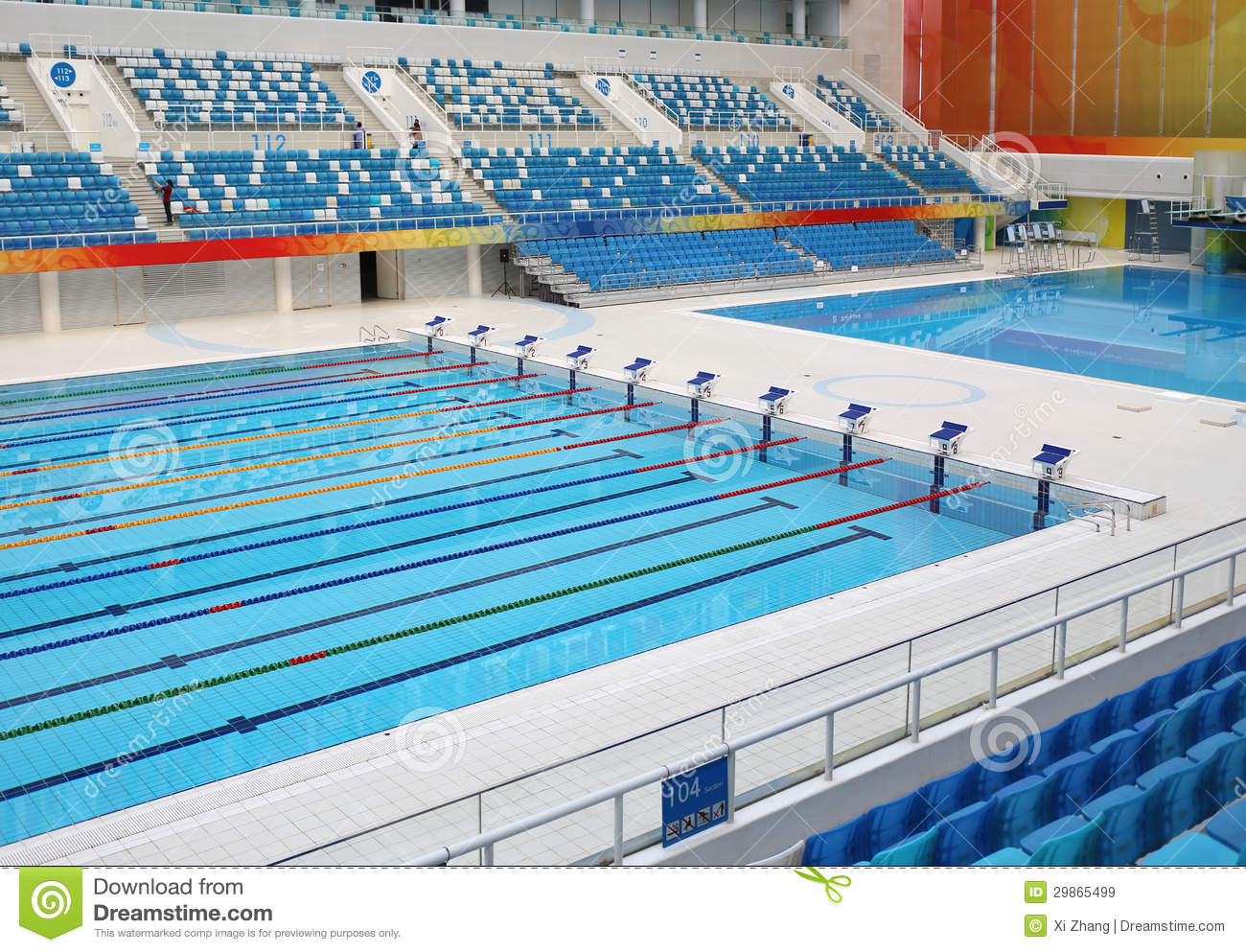 Swimming pool royalty free stock images image 29865499 for Olympic swimming pool pictures